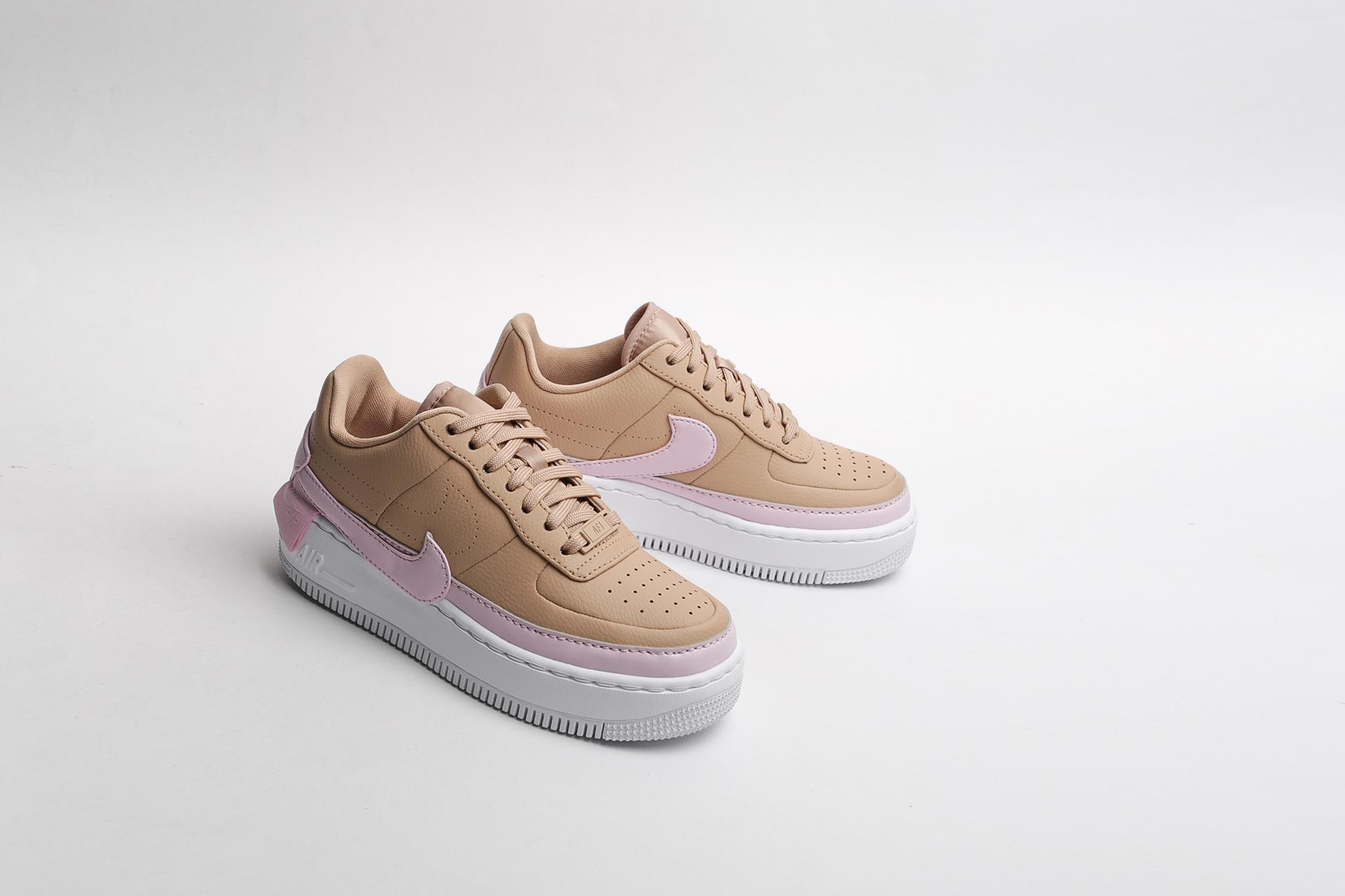 67b42a4f Купить бежевые женские кроссовки WMNS Air Force 1 Jester XX от Nike ...