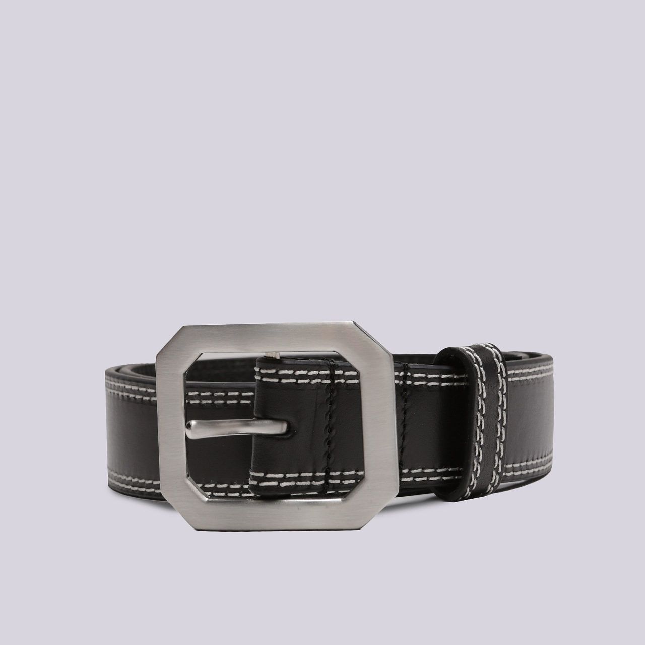Ремень Stussy Contrast Stitch Leather Belt