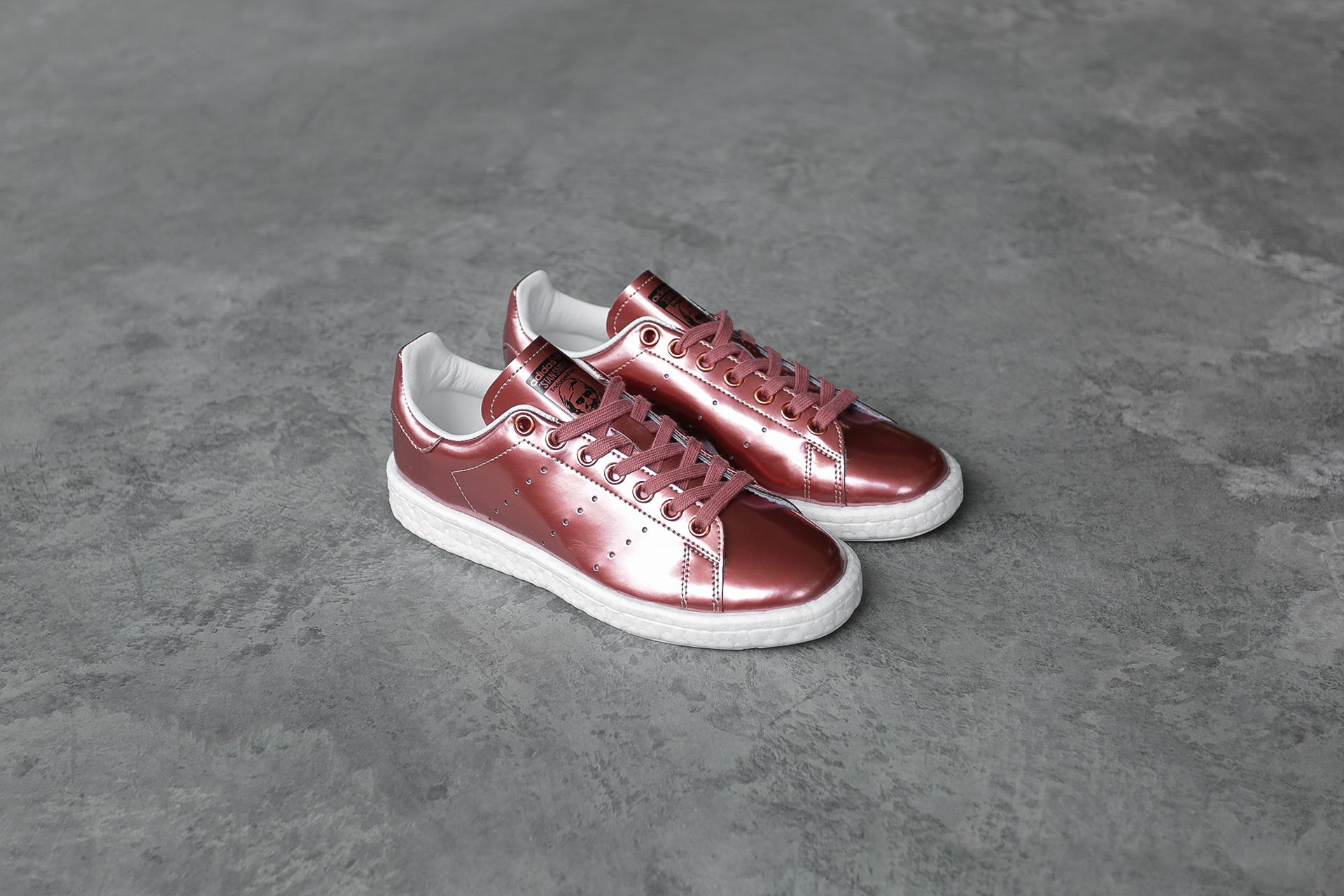557f8e1e5e89 Купить красные женские кроссовки Stan Smith W от adidas Originals ...