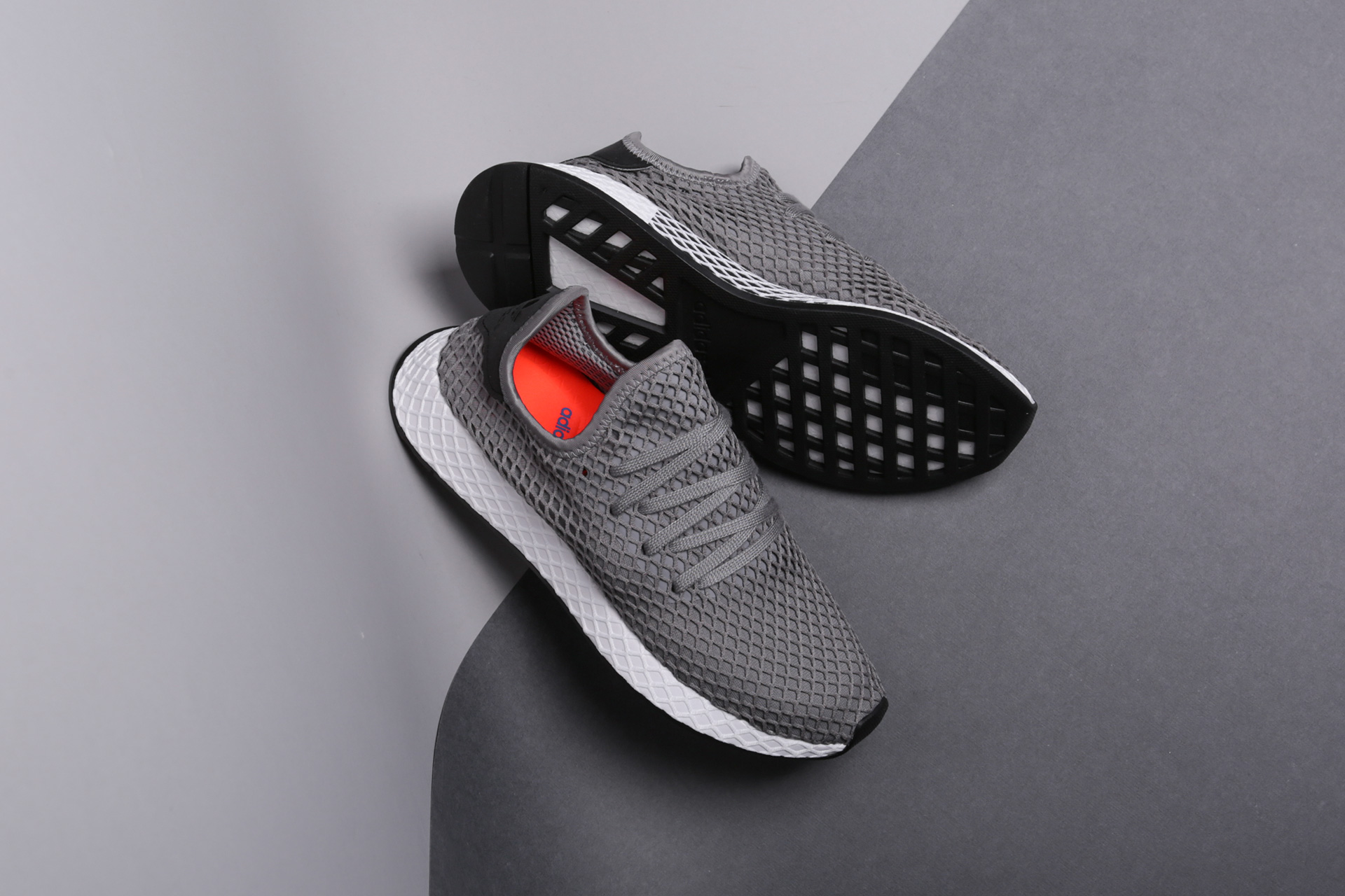 ed125d22 ... Купить мужские серые кроссовки adidas Originals Deerupt Runner - фото 4  картинки