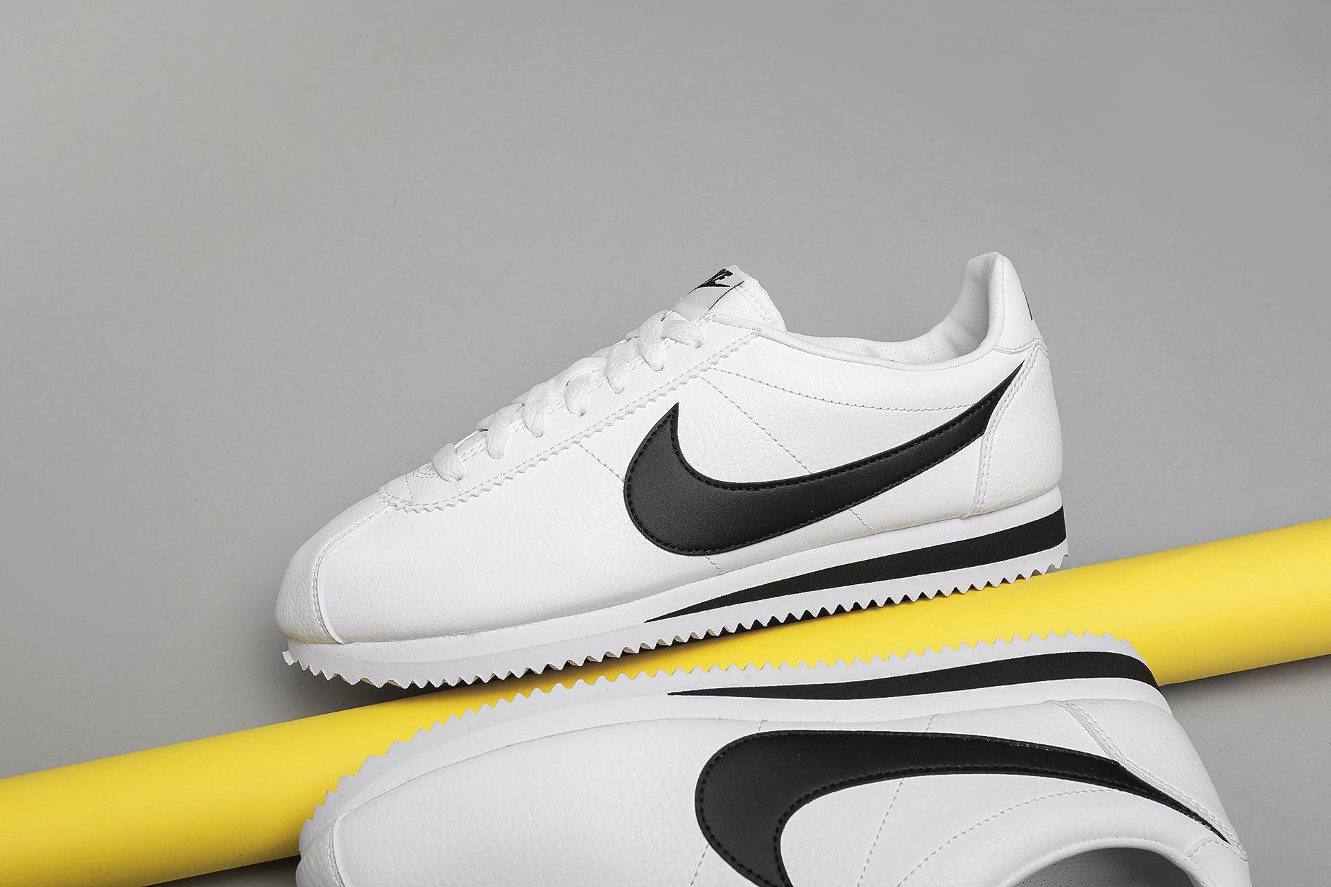e60ffe7d ... Купить мужские белые кроссовки Nike Classic Cortez Leather - фото 3  картинки ...