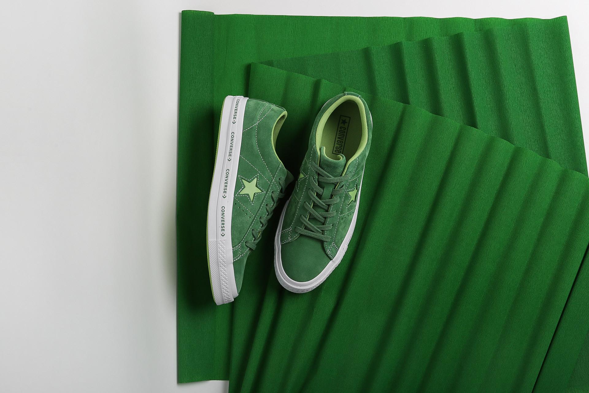 fae86e69a6c7 Купить зеленые кроссовки One Star OX от Converse (159816) по цене ...