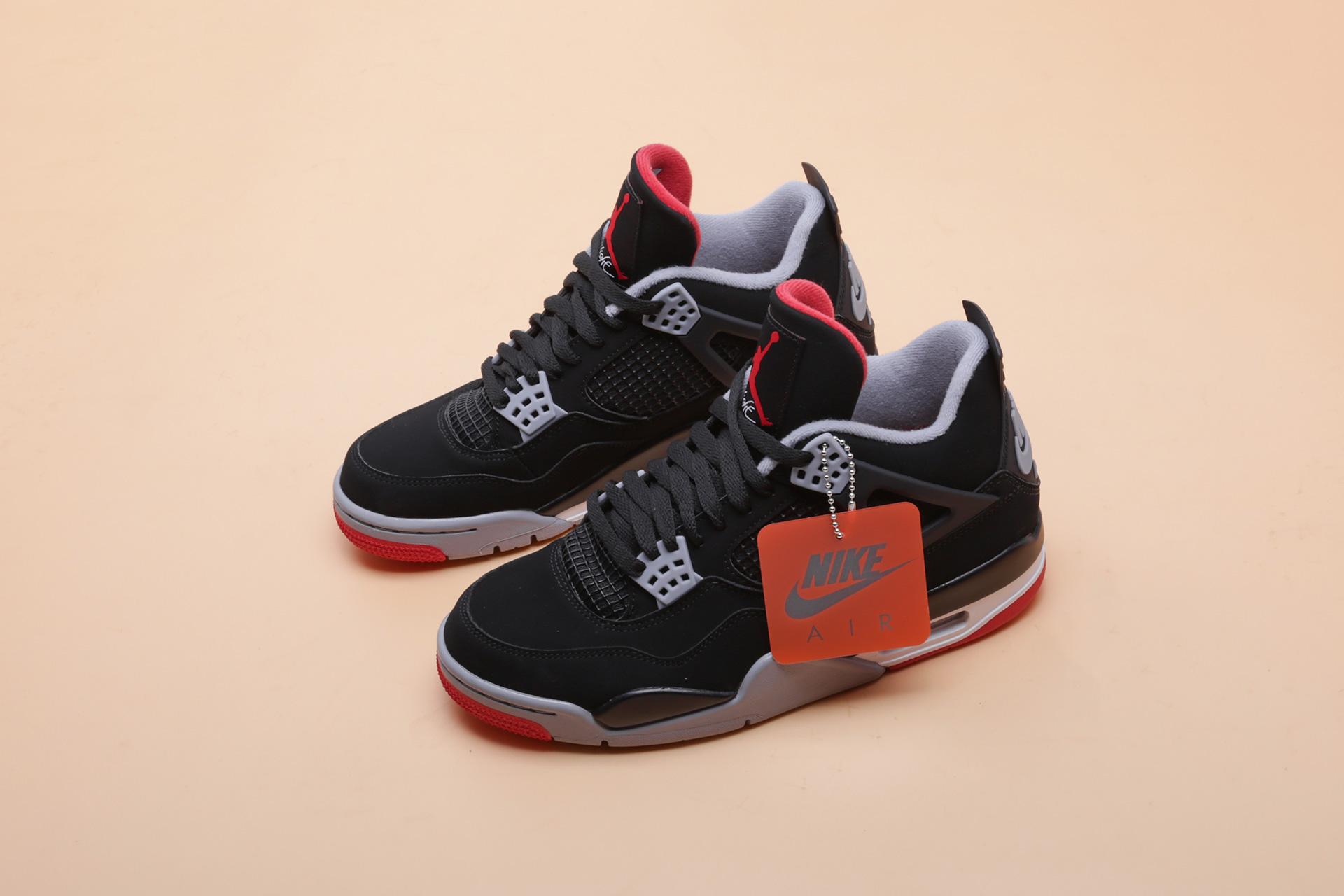 9903fb17 ... Купить мужские черные кроссовки Jordan 4 Retro - фото 4 картинки ...