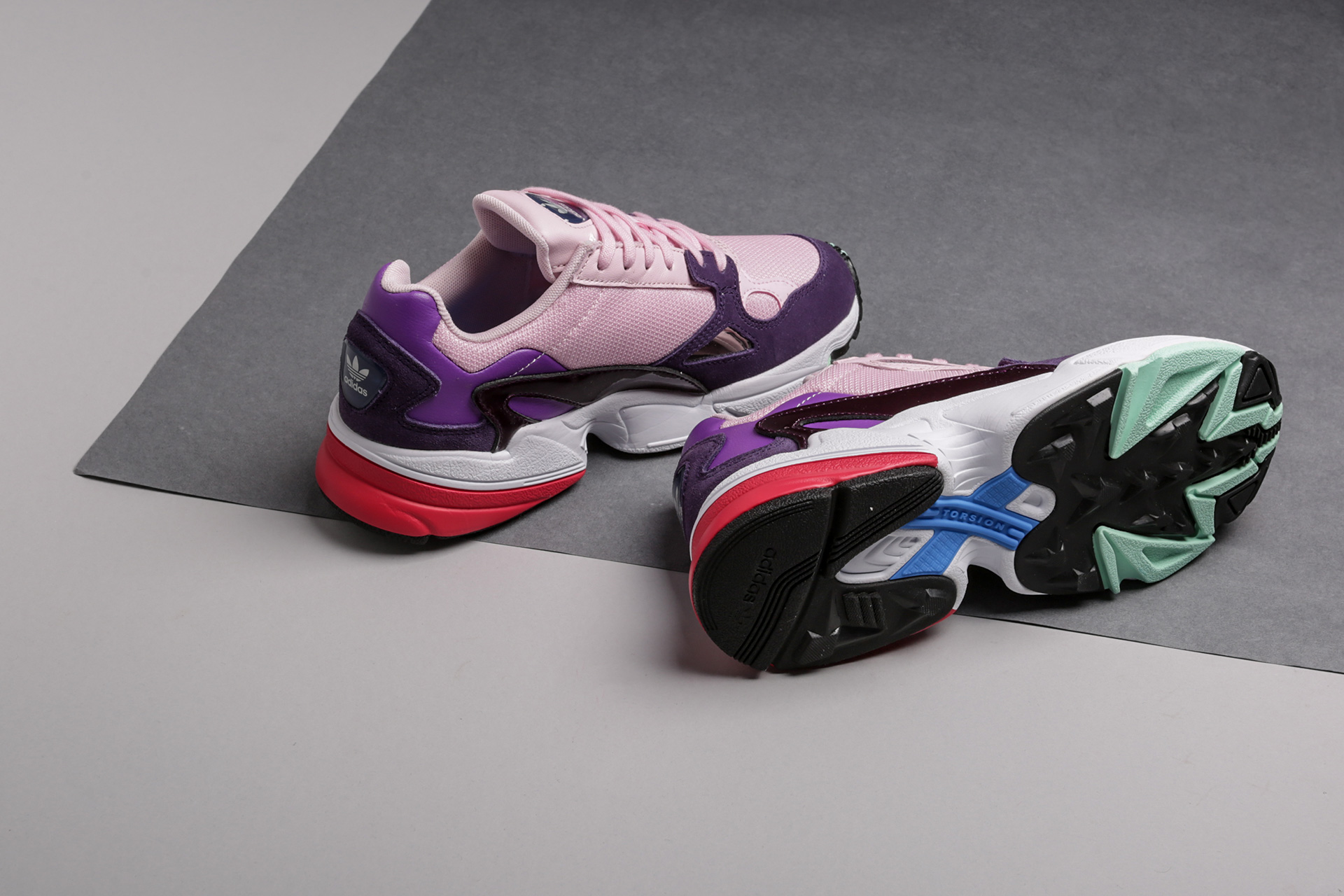 thoughts on good texture high quality Купить розовые женские кроссовки Falcon W от adidas ...