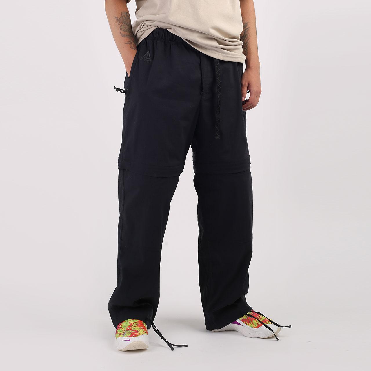 Черные мужские брюки ACG Convertible Trousers от Nike (CK6863-010) по цене 7340 рублей
