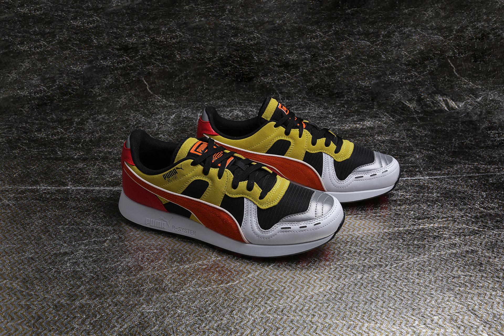 Купить мультиколые мужские кроссовки RS-100 x Roland от Puma ... 02ef090f2eee6