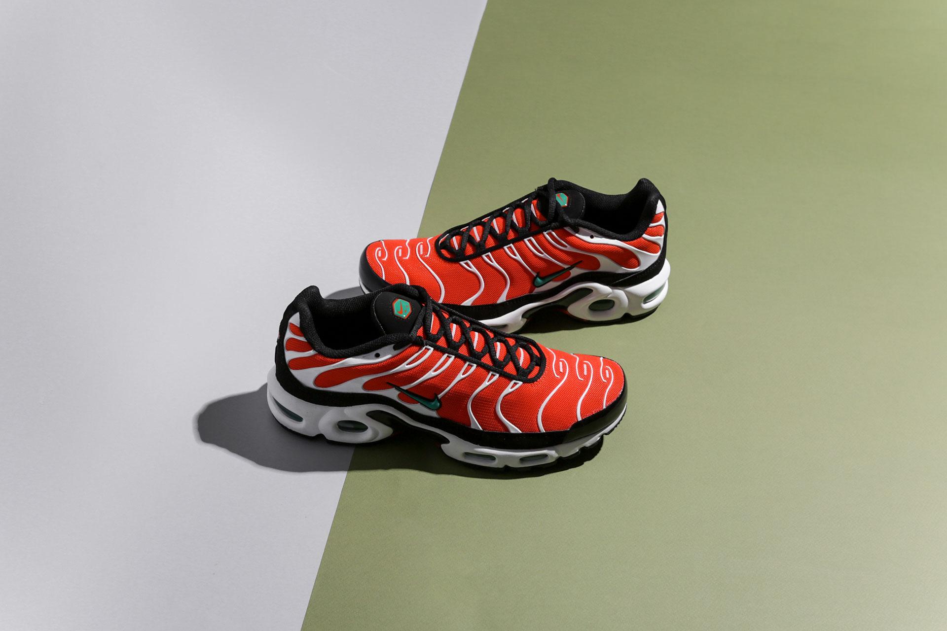 737b0cc5 Купить оранжевые мужские кроссовки Air Max Plus от Nike (852630-801 ...