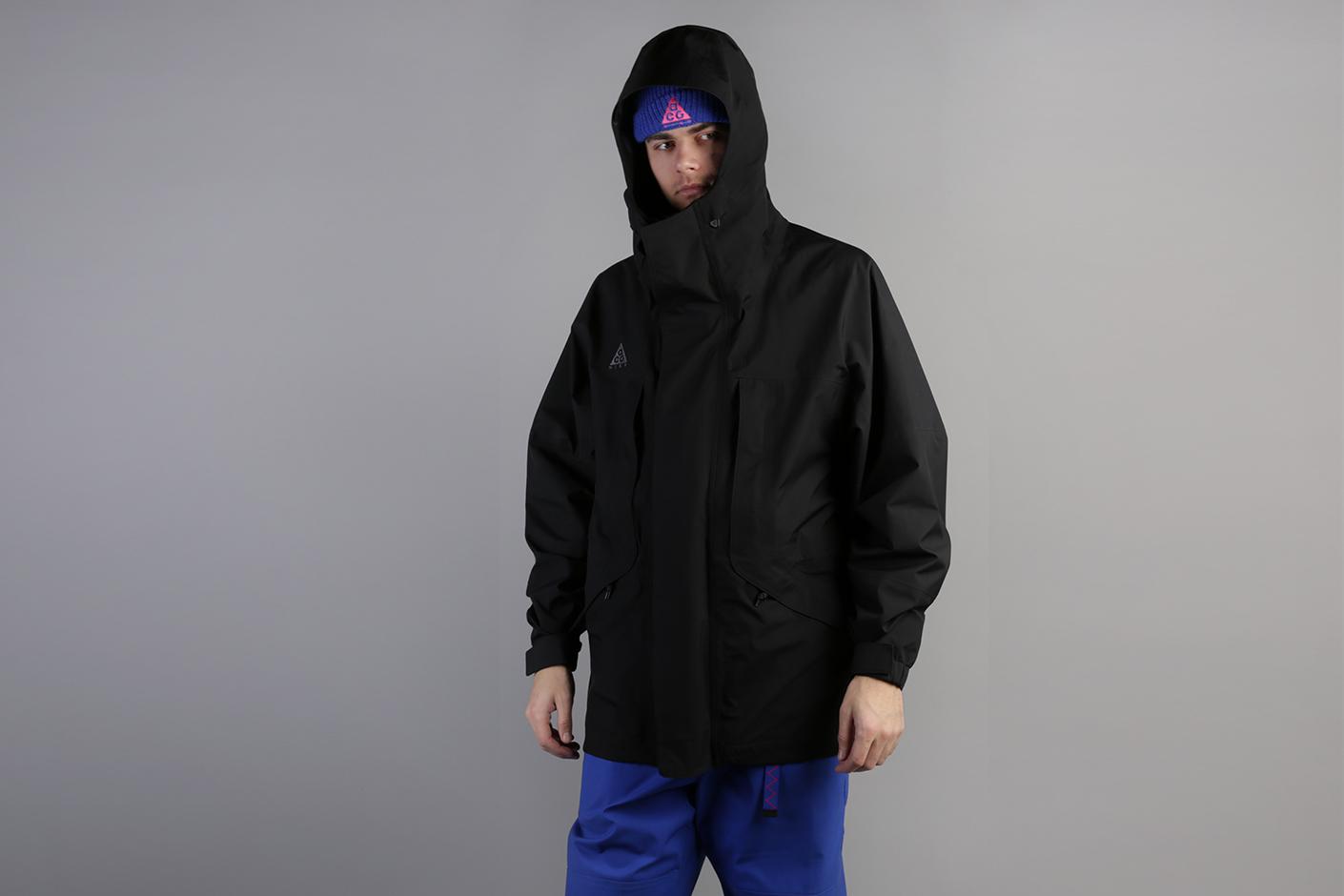 09c8b6f8 Чёрная мужская куртка ACG Gore-Tex Hooded от Nike (BQ3445-010) по ...