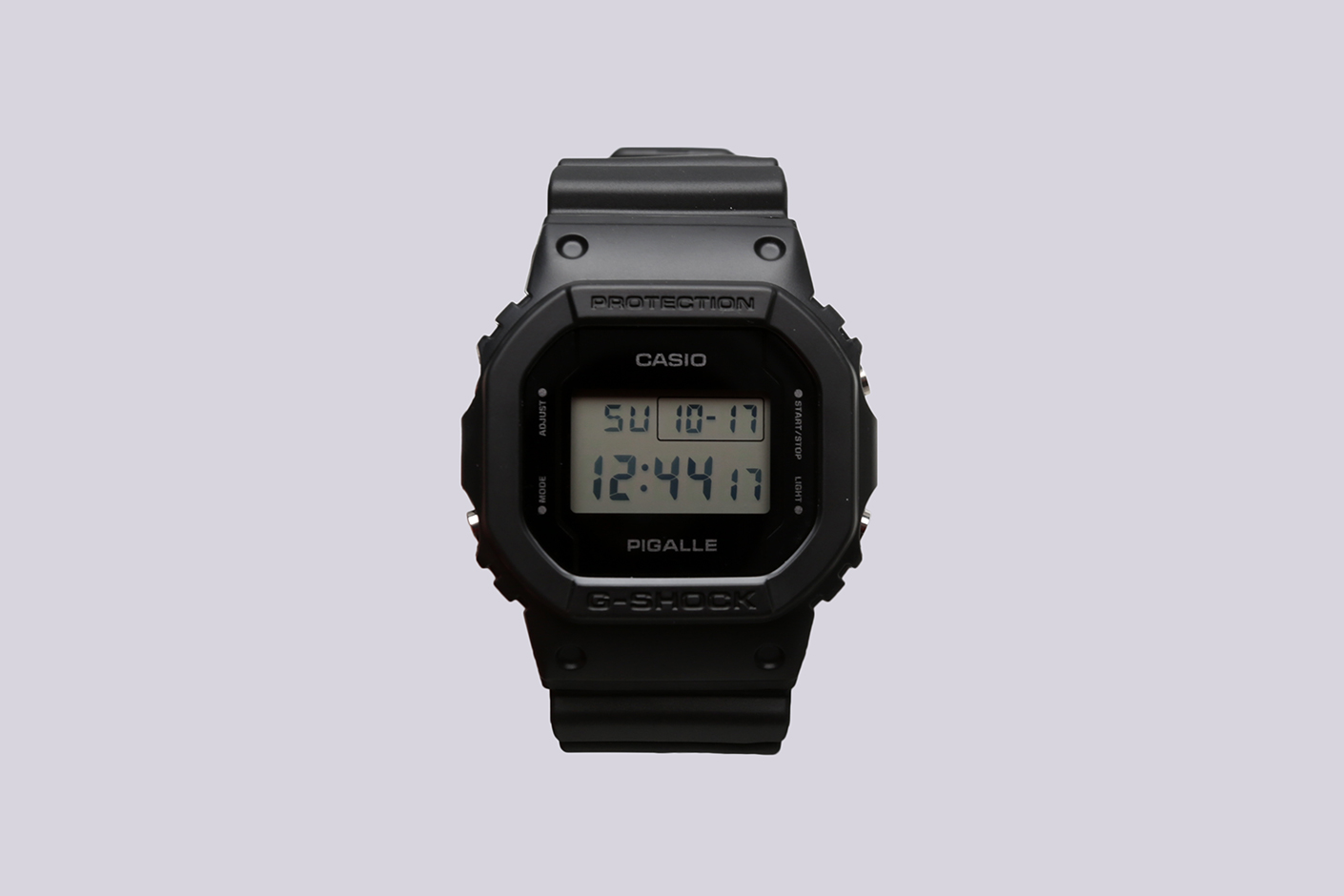 Pigalle resonates with the way g-shock supports street sport culture, and this marks the.