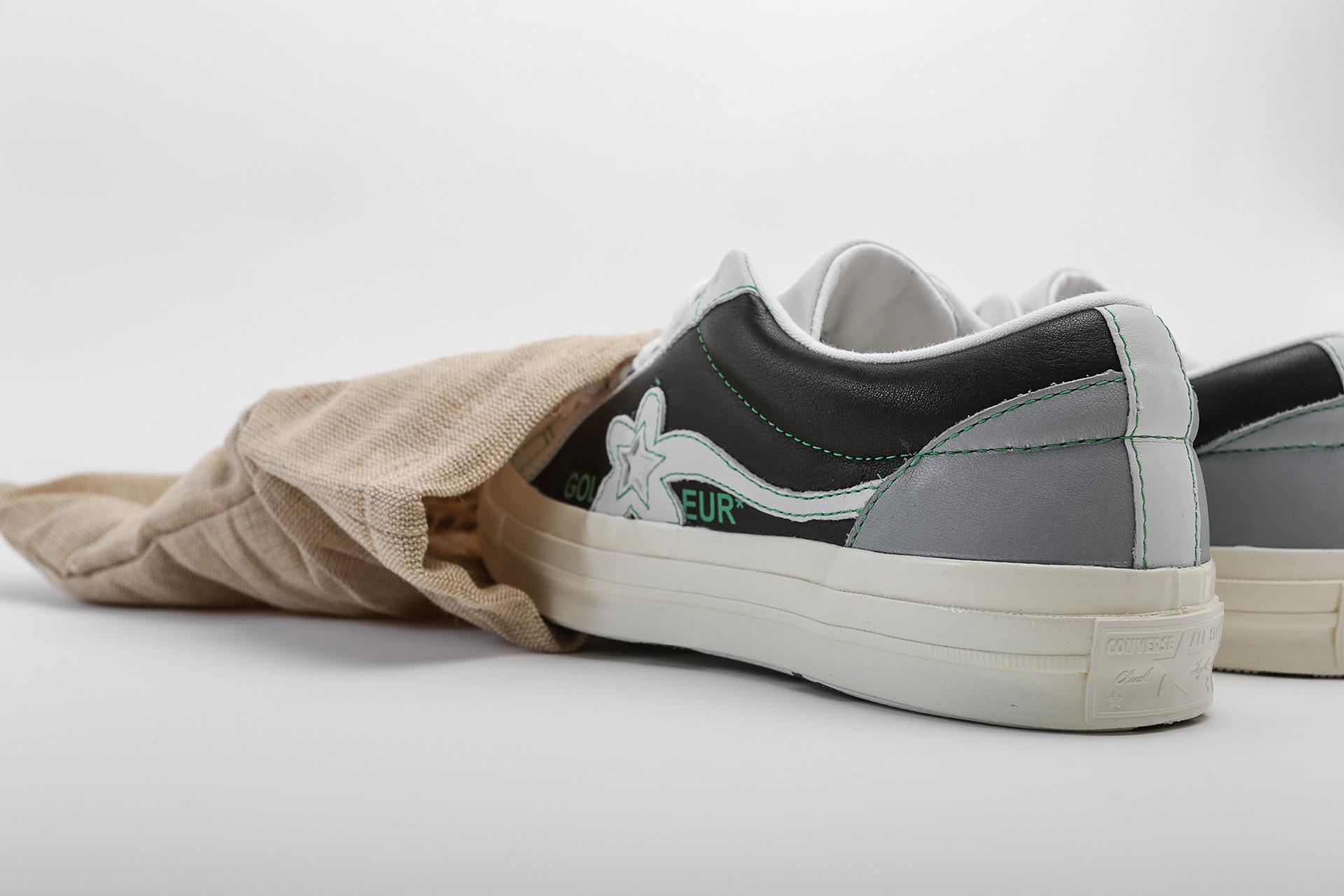 7e1ac686 ... Купить мужские серые кроссовки Converse One Star Golf Le Fleur OX -  фото 6 картинки ...