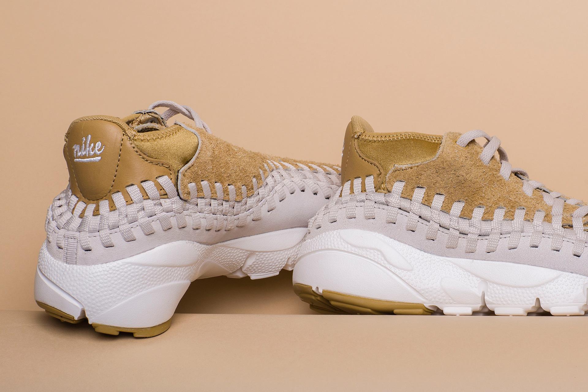 separation shoes 03ec0 1fb45 ... Купить мужские бежевые кроссовки Nike Footscape Woven Chukka QS - фото  5 картинки