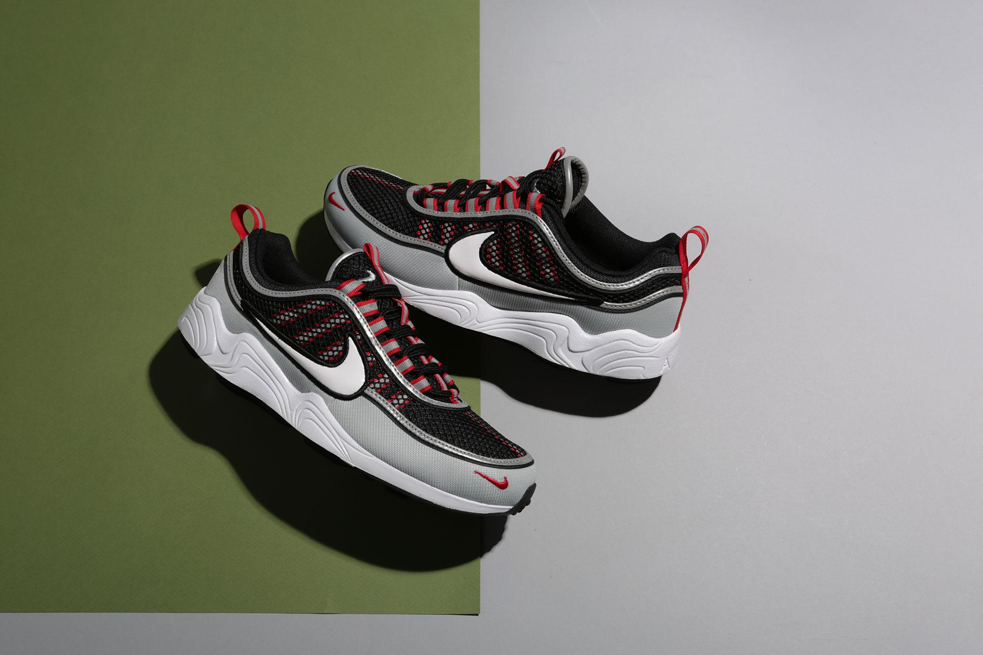 5e3fb9a5 Купить черные мужские кроссовки Air Zoom Spiridon `16 от Nike ...
