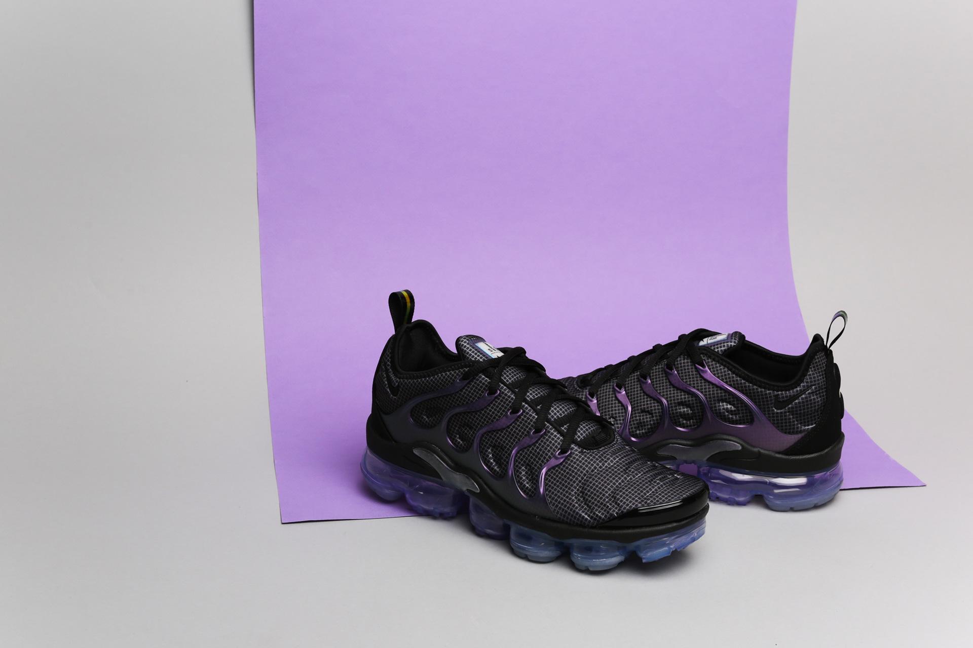 c3e49747 Купить черные мужские кроссовки Air Vapormax Plus от Nike (924453 ...