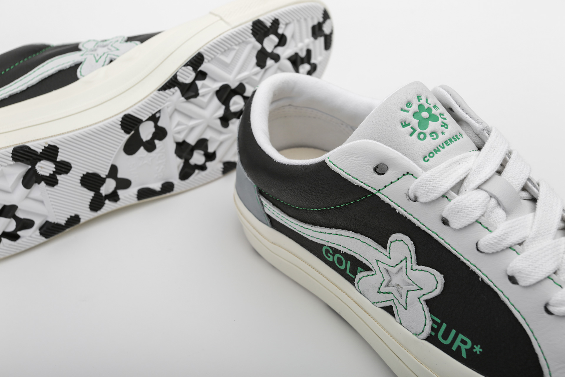 7bfb46e8 ... Купить мужские серые кроссовки Converse One Star Golf Le Fleur OX -  фото 2 картинки ...
