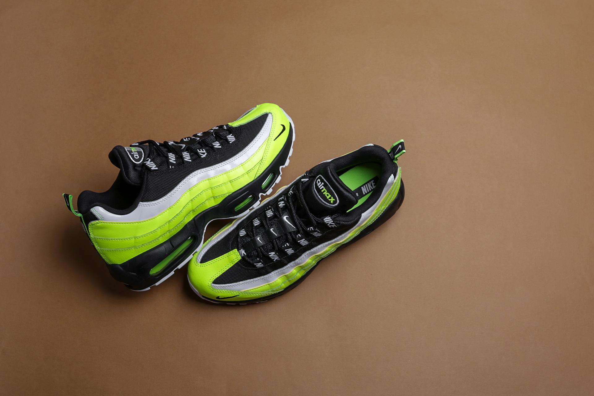 2ff6aaf8 Купить зеленые мужские кроссовки Air Max 95 PRM от Nike (538416-701 ...