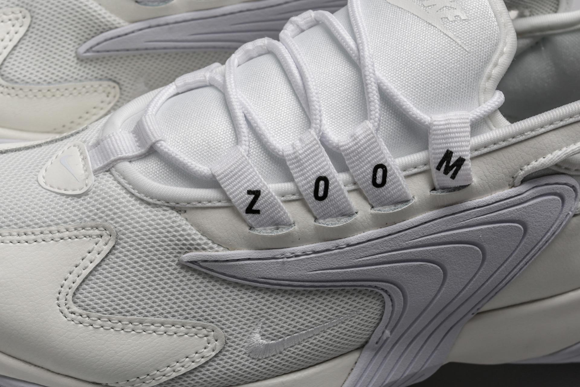 8d2b3764 Купить белые женские кроссовки WMNS Zoom 2K от Nike (AO0354-101) по ...