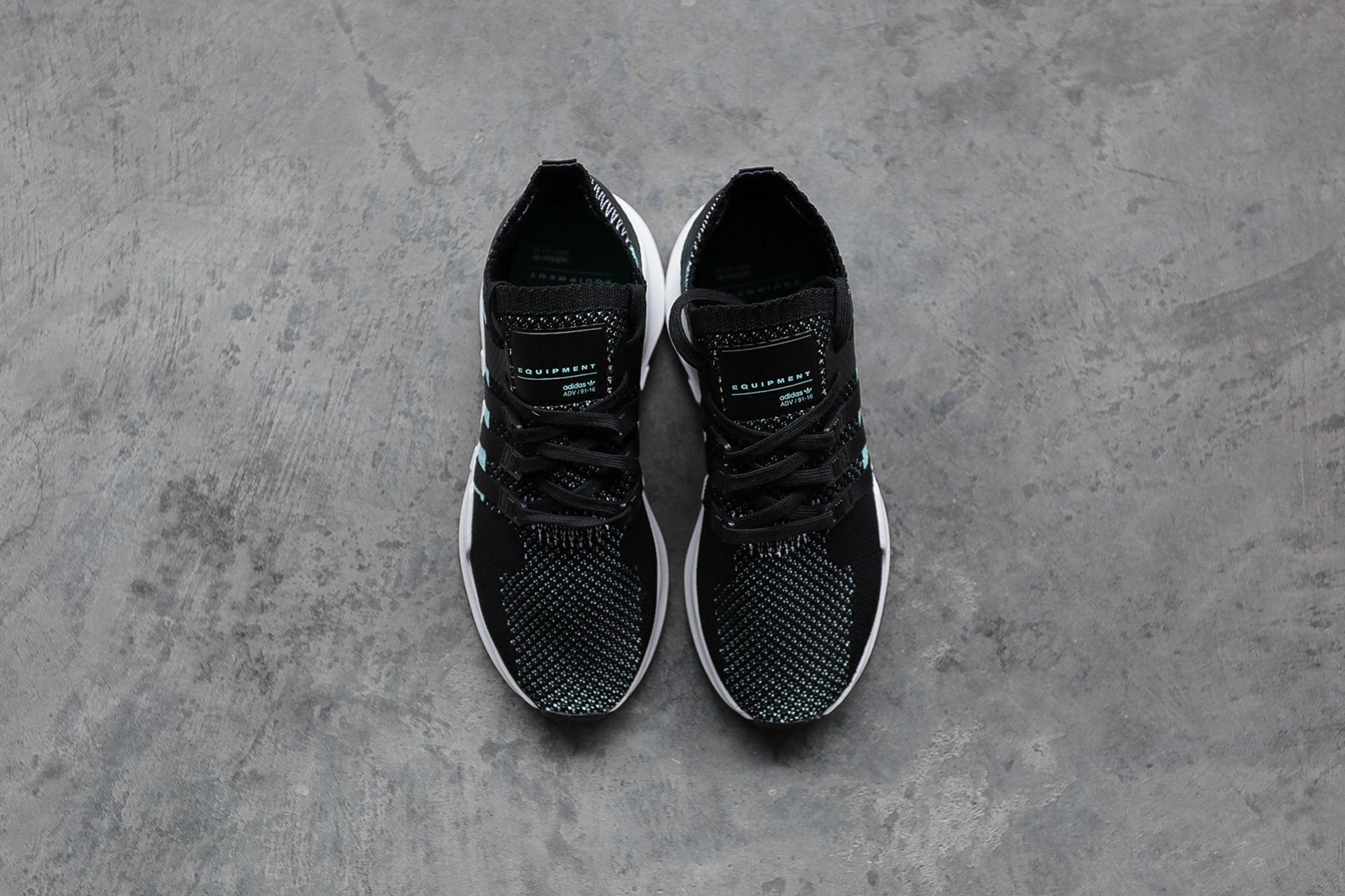... Купить женские черные кроссовки adidas Originals EQT Support ADV PK W -  фото 2 картинки ... 105b61a1fd3