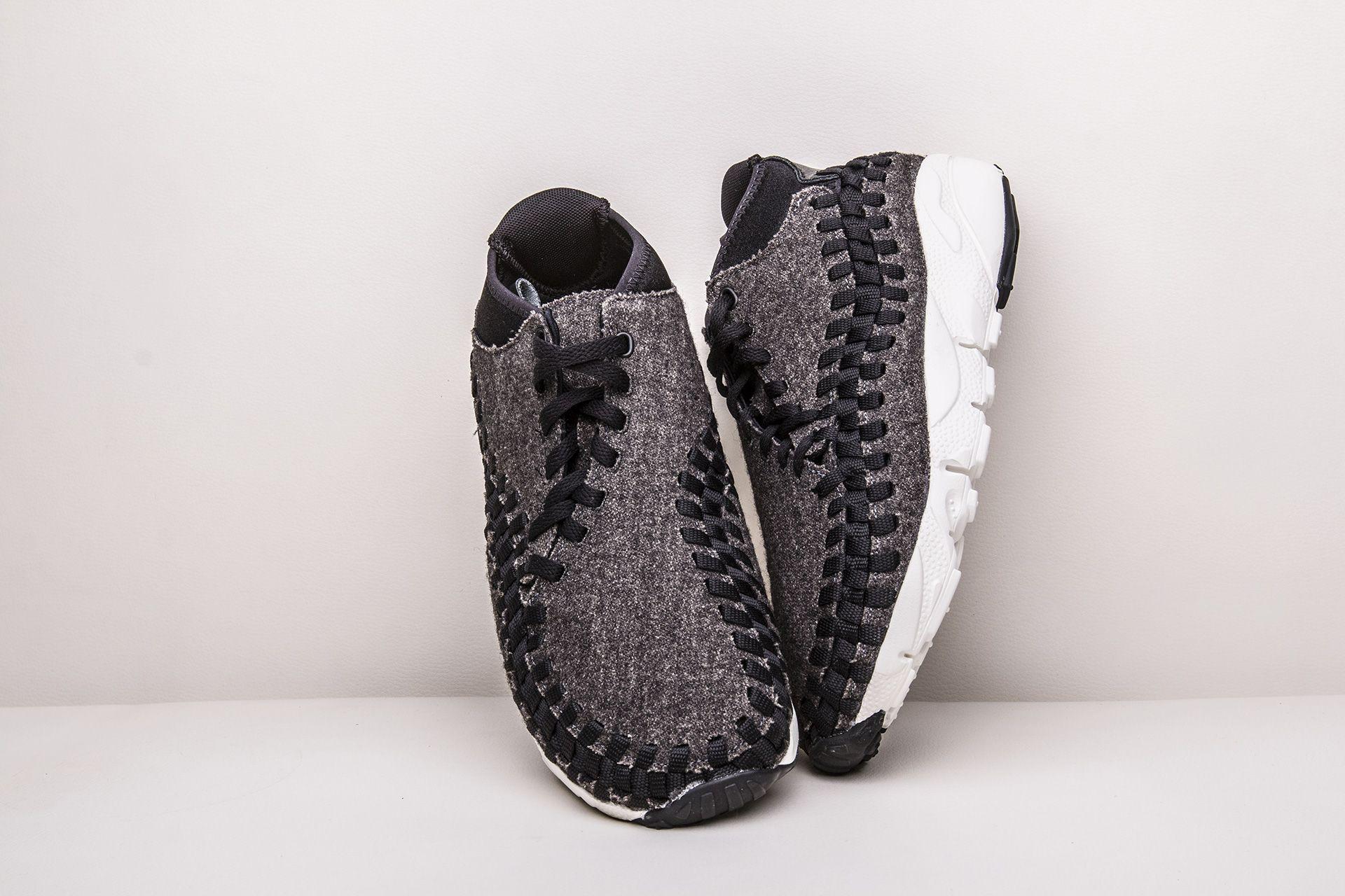 quality design c4948 f73a0 ... Купить мужские черные кроссовки Nike Air Footscape Woven Chukka SE -  фото 2 картинки ...