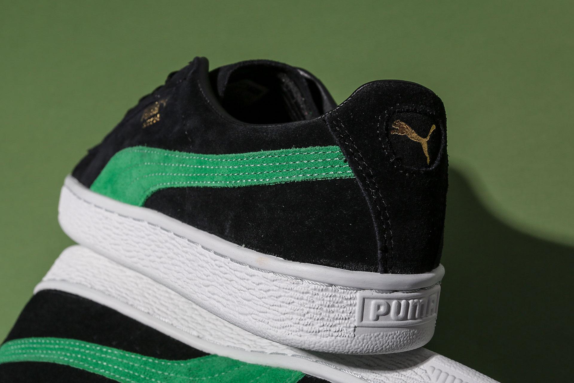... Купить мужские черные кроссовки Puma Suede Classic x XLARGE - фото 3  картинки ... 255d1f924fa