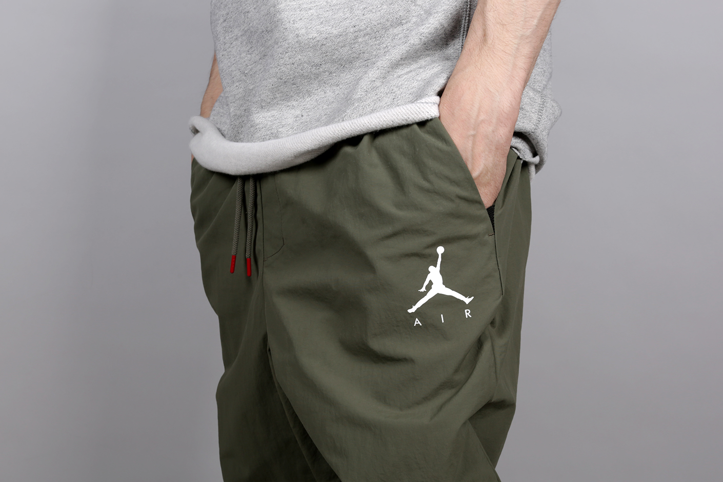d34d3d0d6f612d ... Мужские зеленые брюки Jordan Jumpman Men s Woven Trousers - фото 3  картинки ...