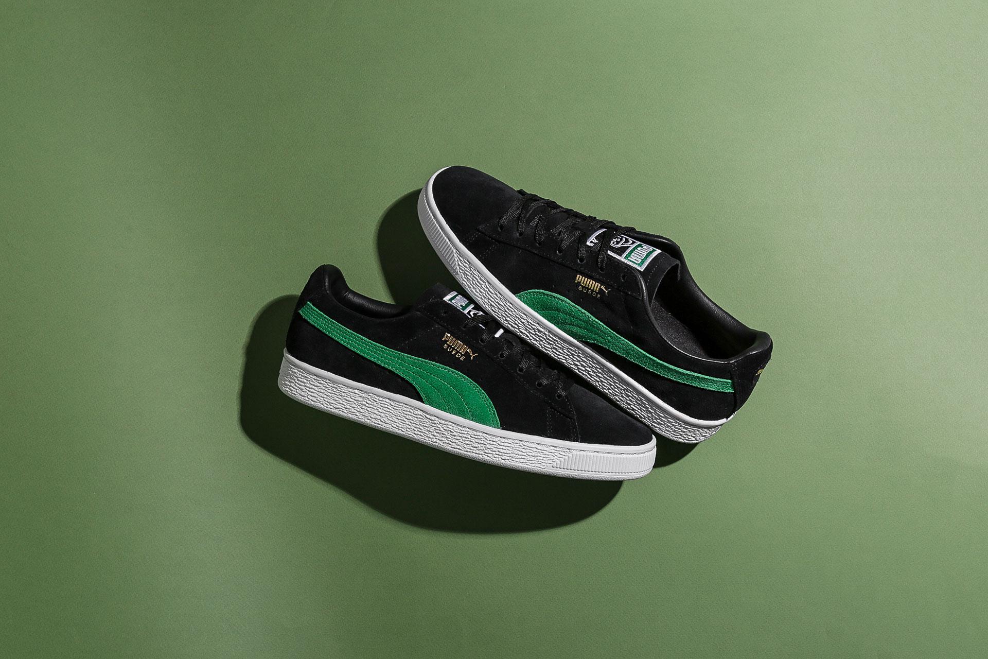 53d4660f81a701 Купить черные мужские кроссовки Suede Classic x XLARGE от PUMA ...