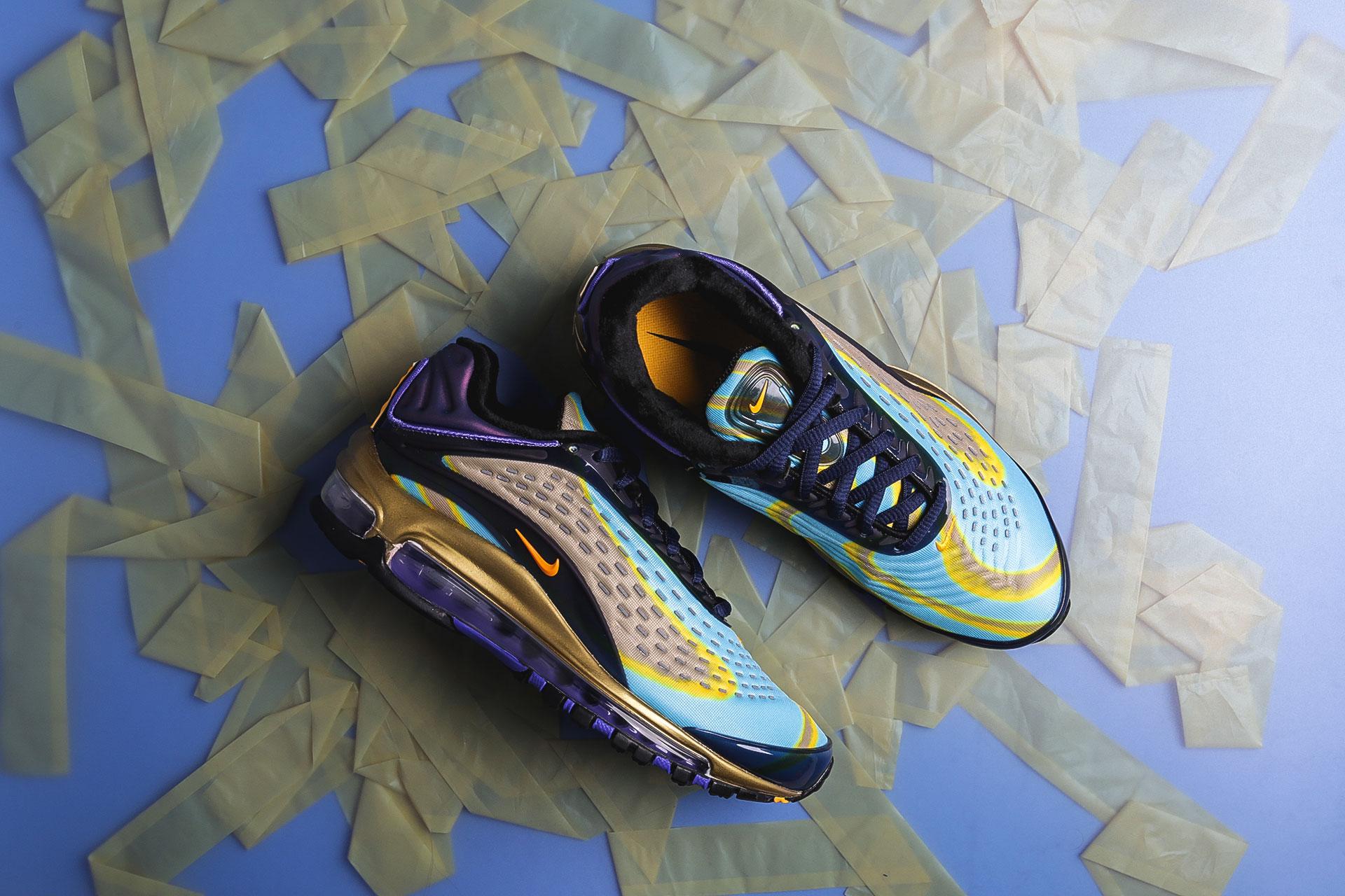 huge selection of 4fd04 8ba71 Купить женские мультиколые кроссовки Nike WMNS Air Max Deluxe