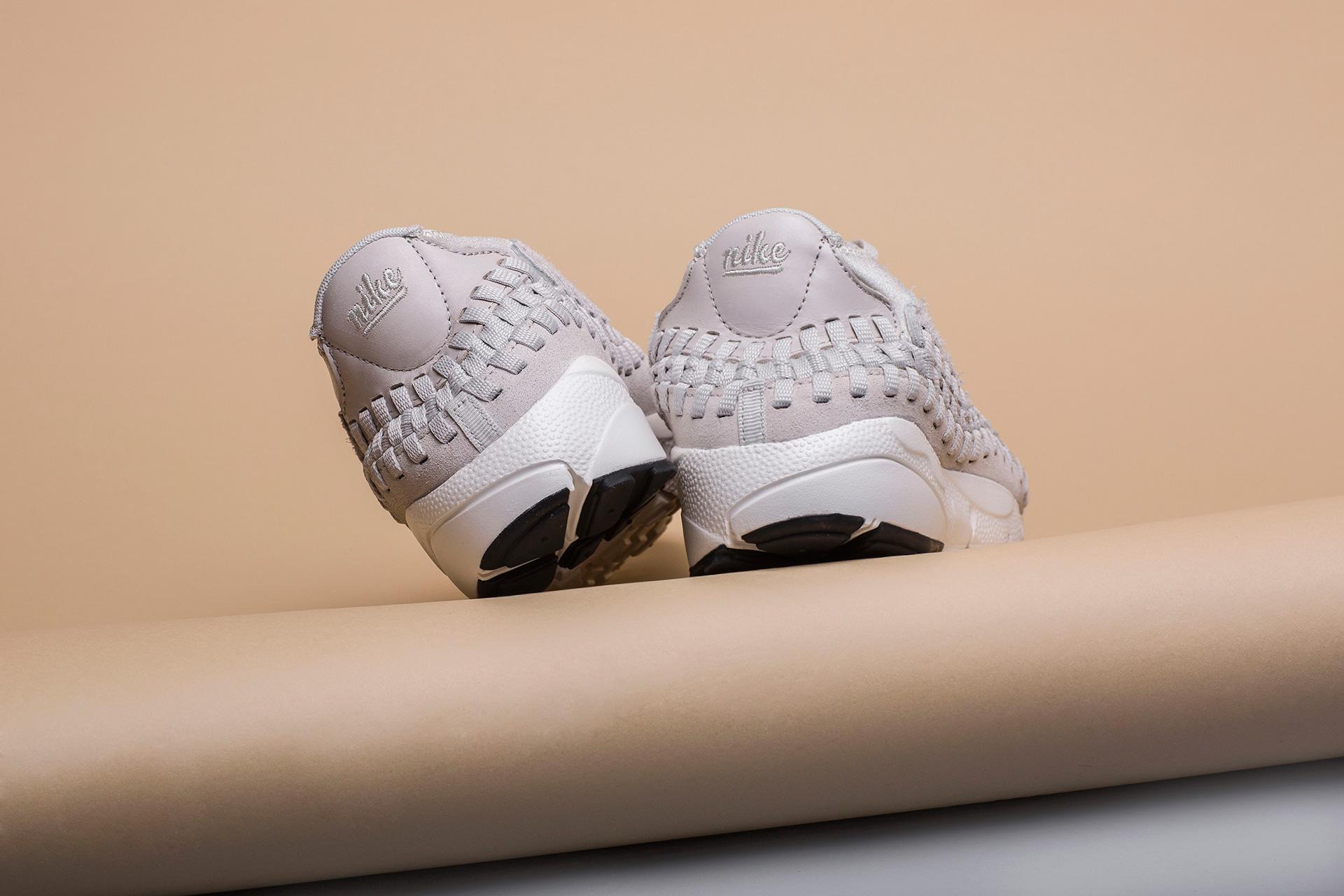 new arrival f82b4 9486c ... Купить мужские бежевыые кроссовки Nike Footscape Woven Chukka QS - фото  2 картинки ...