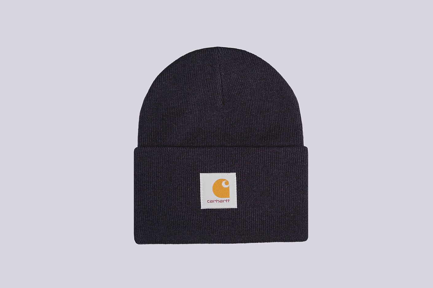 синяя шапка Carhartt WIP Acrylic Watch Hat
