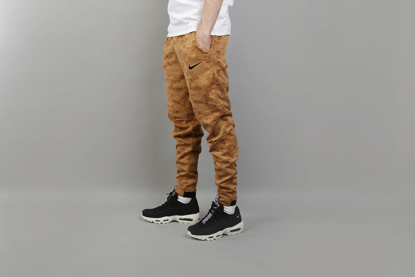 64277415 Мужские коричневые брюки Nike Dri-FIT Kyrie Printed Basketball Trousers