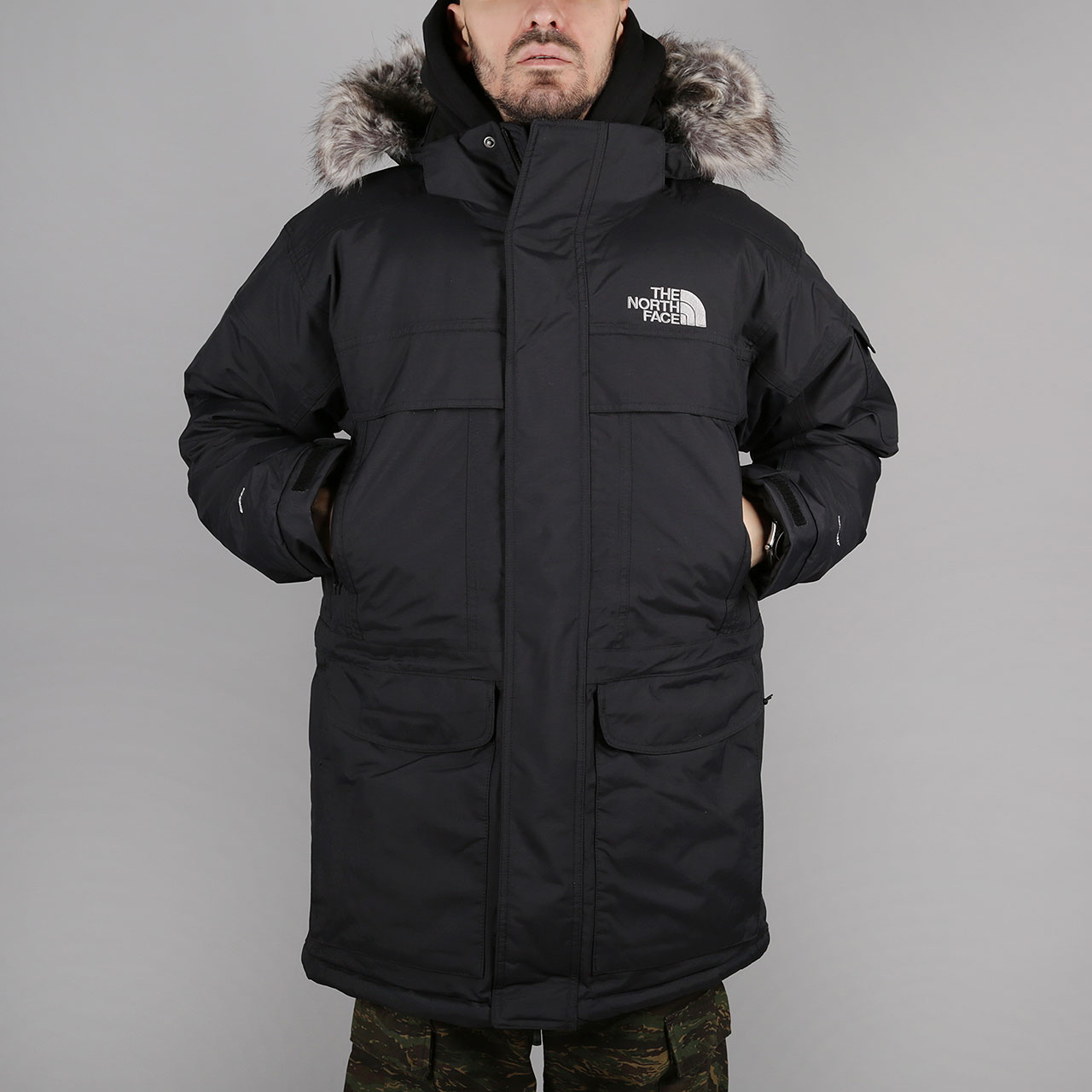 Пуховик The North Face The North Face Mcmurdo Parka фото