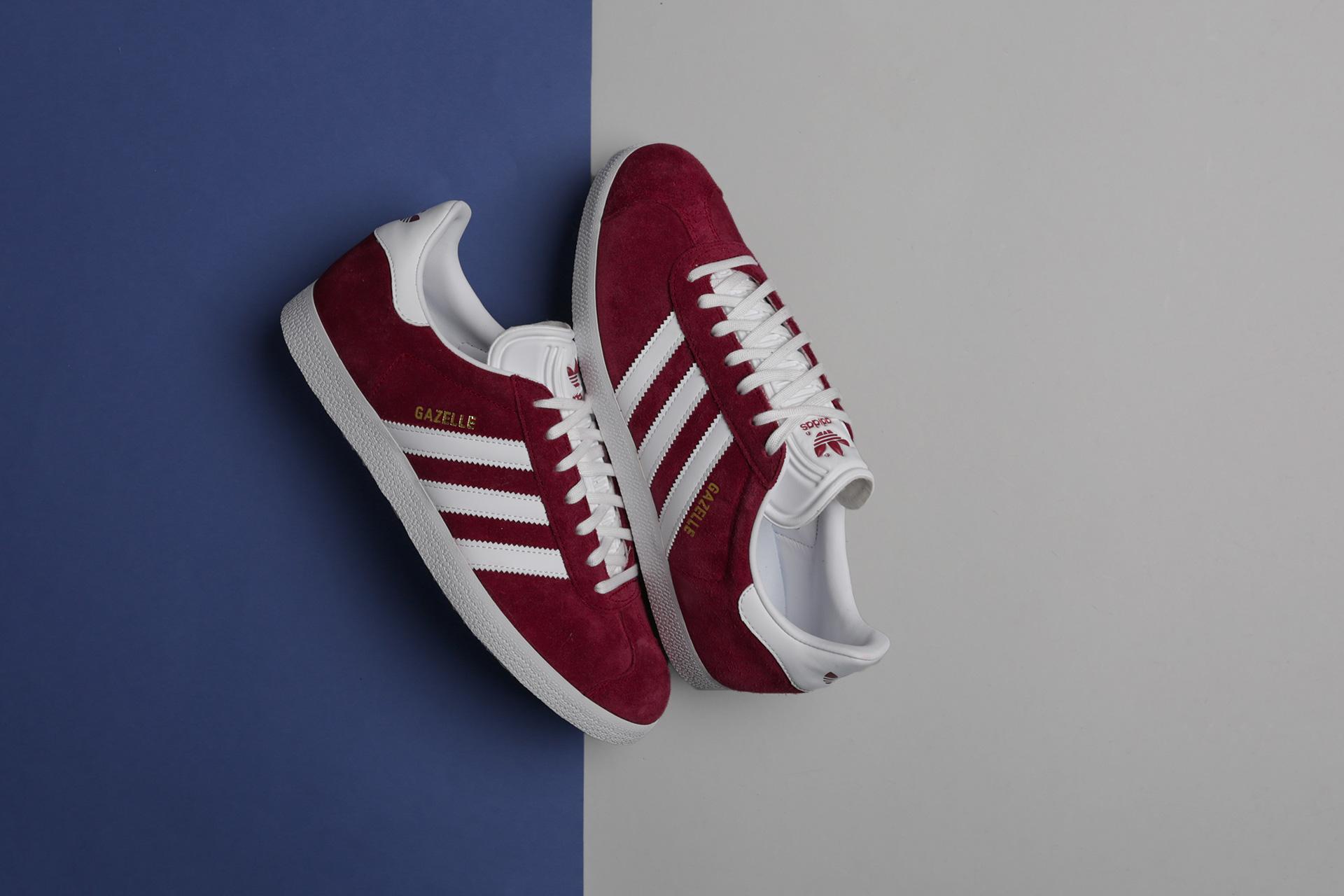 Купить бордовые мужские кроссовки Gazelle от adidas Originals ... 2b0d664b49b