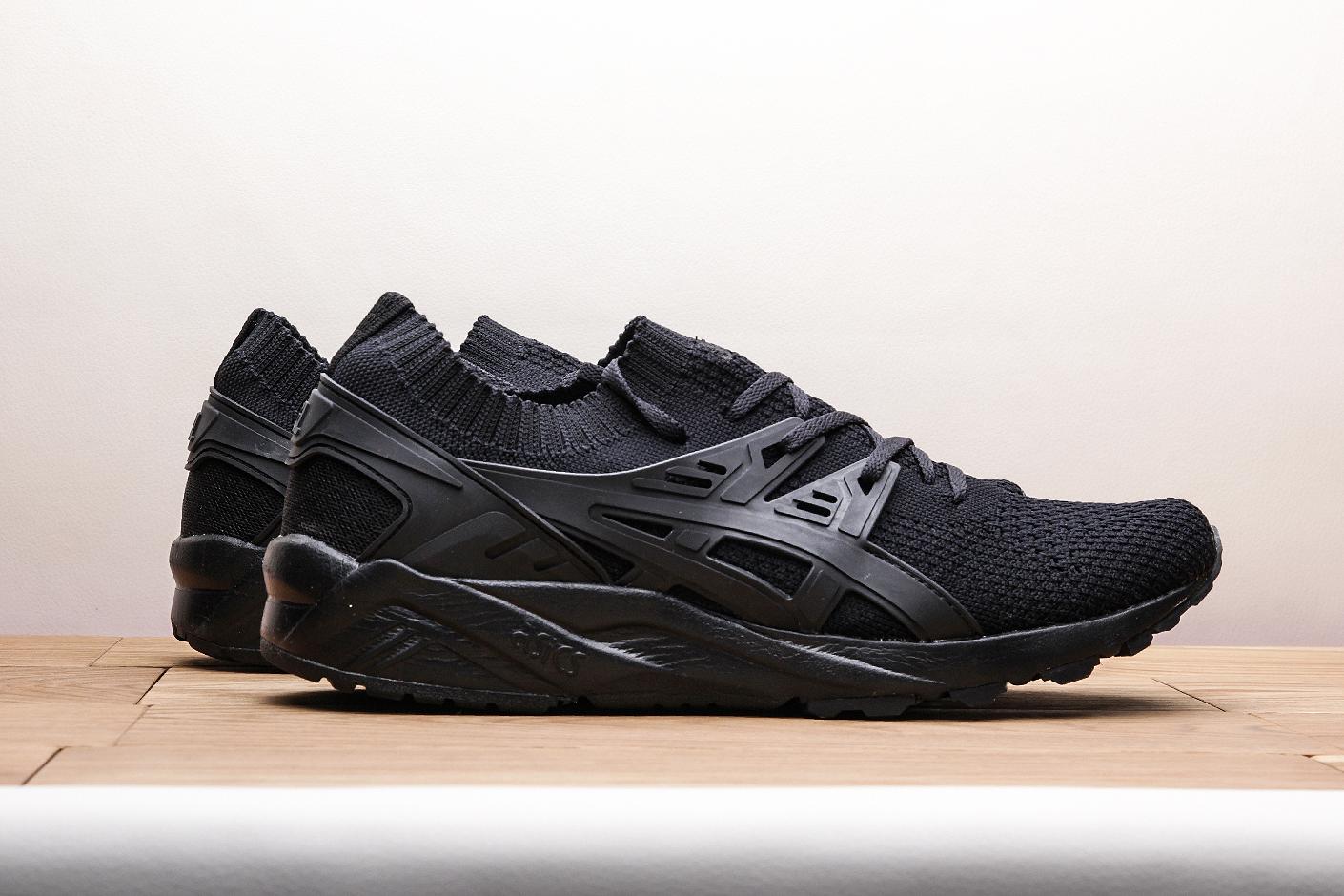 d0e2d86264f ... Купить мужские черные кроссовки ASICS Gel-Kayano Trainer Knit - фото 2  картинки ...