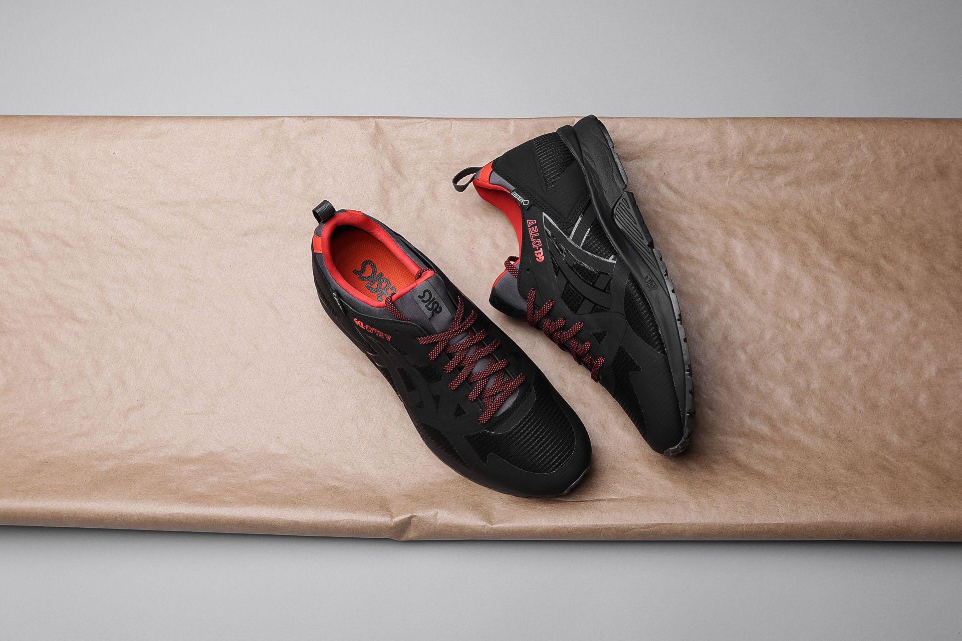 new arrival ddbf2 abc9a Купить черные мужские кроссовки Gel-Lyte V NS G-TX от ASICS ...