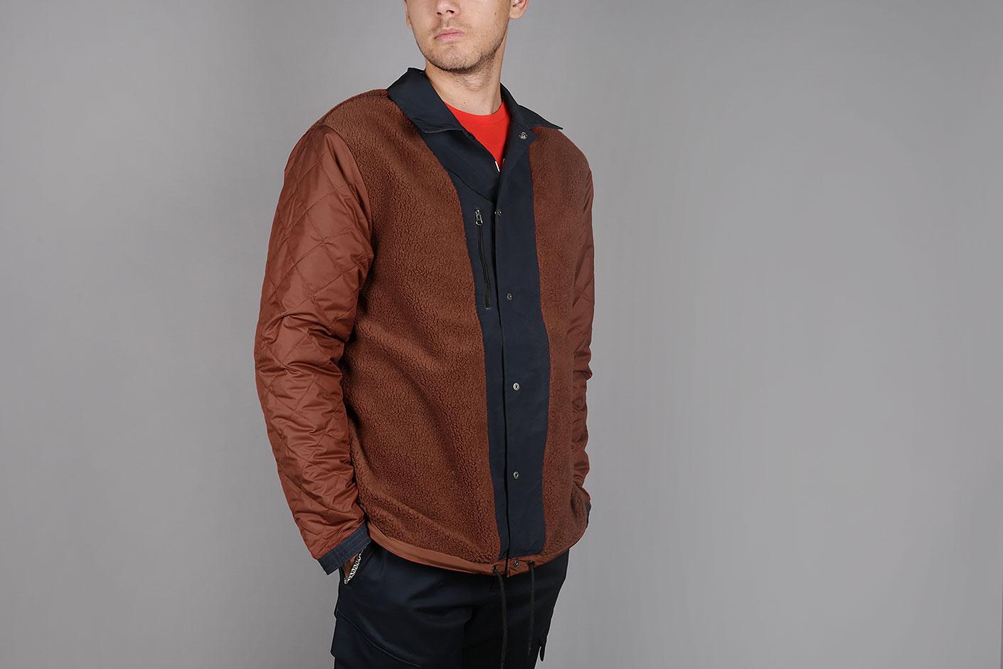 6be1929a8f79 ... Мужская синяя куртка Nike Nike X Patta NRG Coach Jacket - фото 6  картинки ...