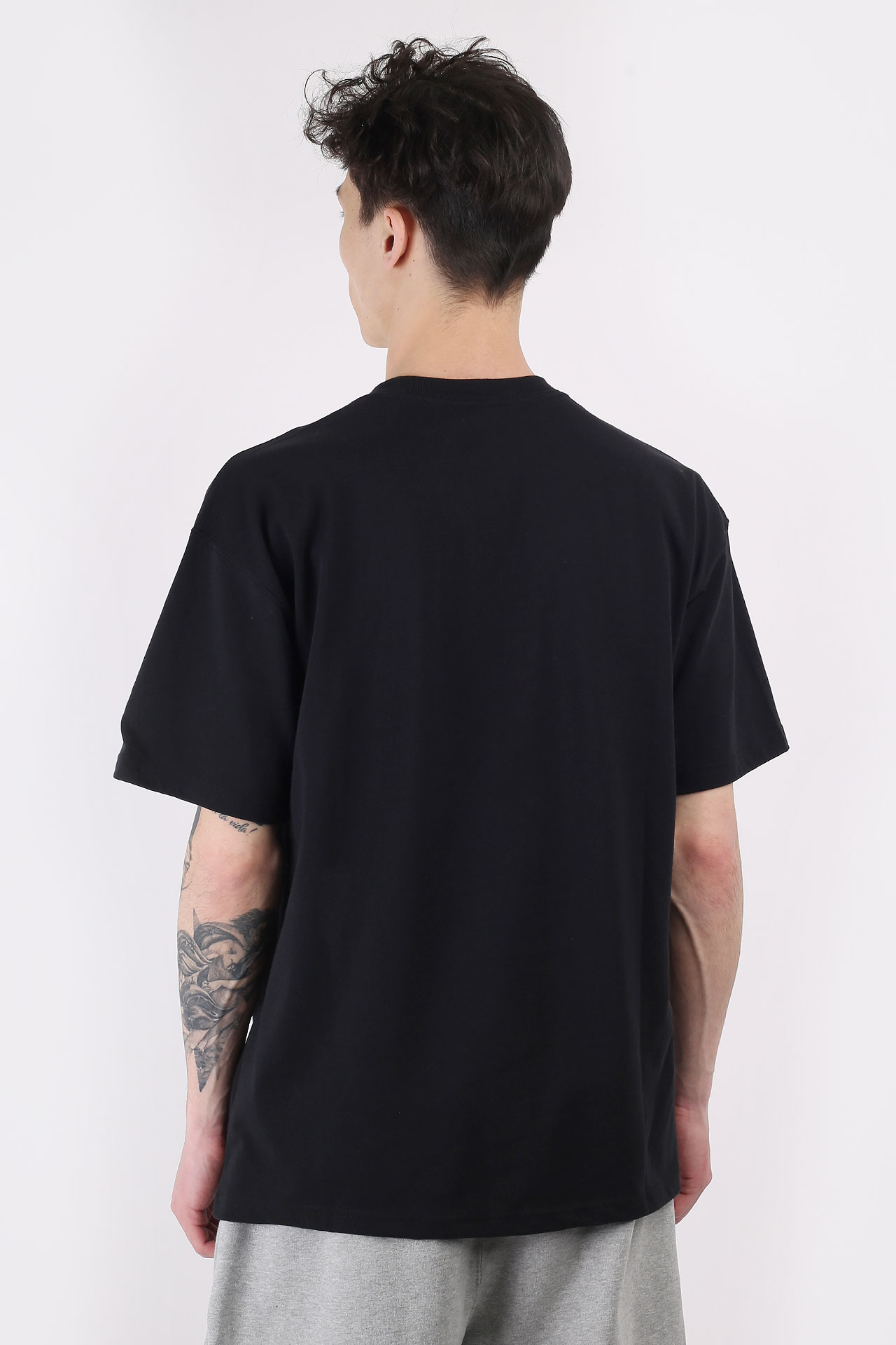 Черная мужская футболка Short-Sleeve T-Shirt x Stussy от