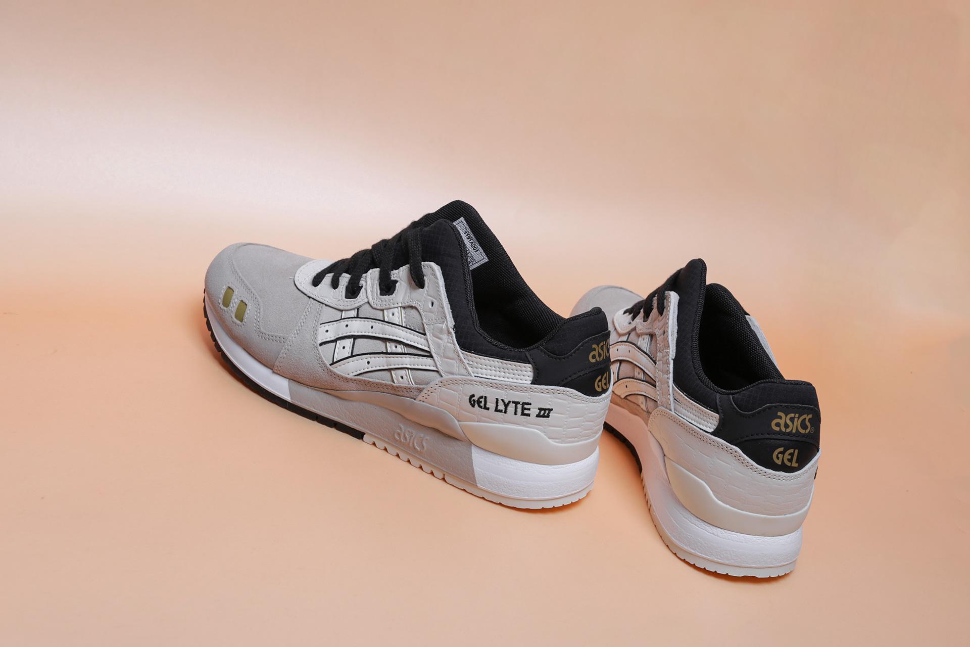 ... Купить мужские бежевые кроссовки ASICS Gel-Lyte III - фото 2 картинки  ... bdd0c246c941e