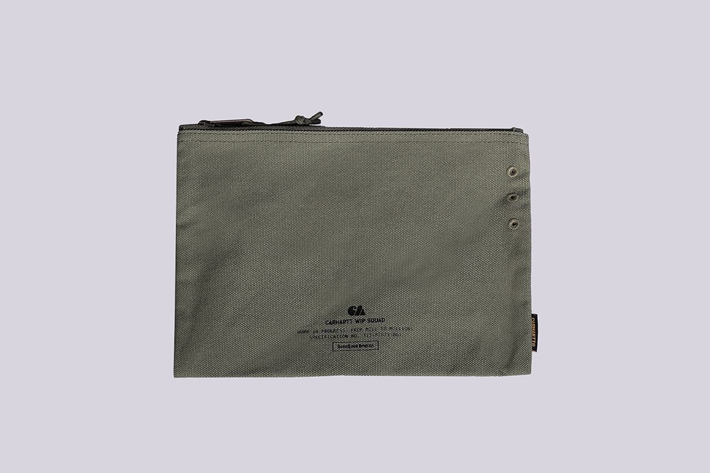 зеленая косметичка Carhartt WIP Camp Pouch Large