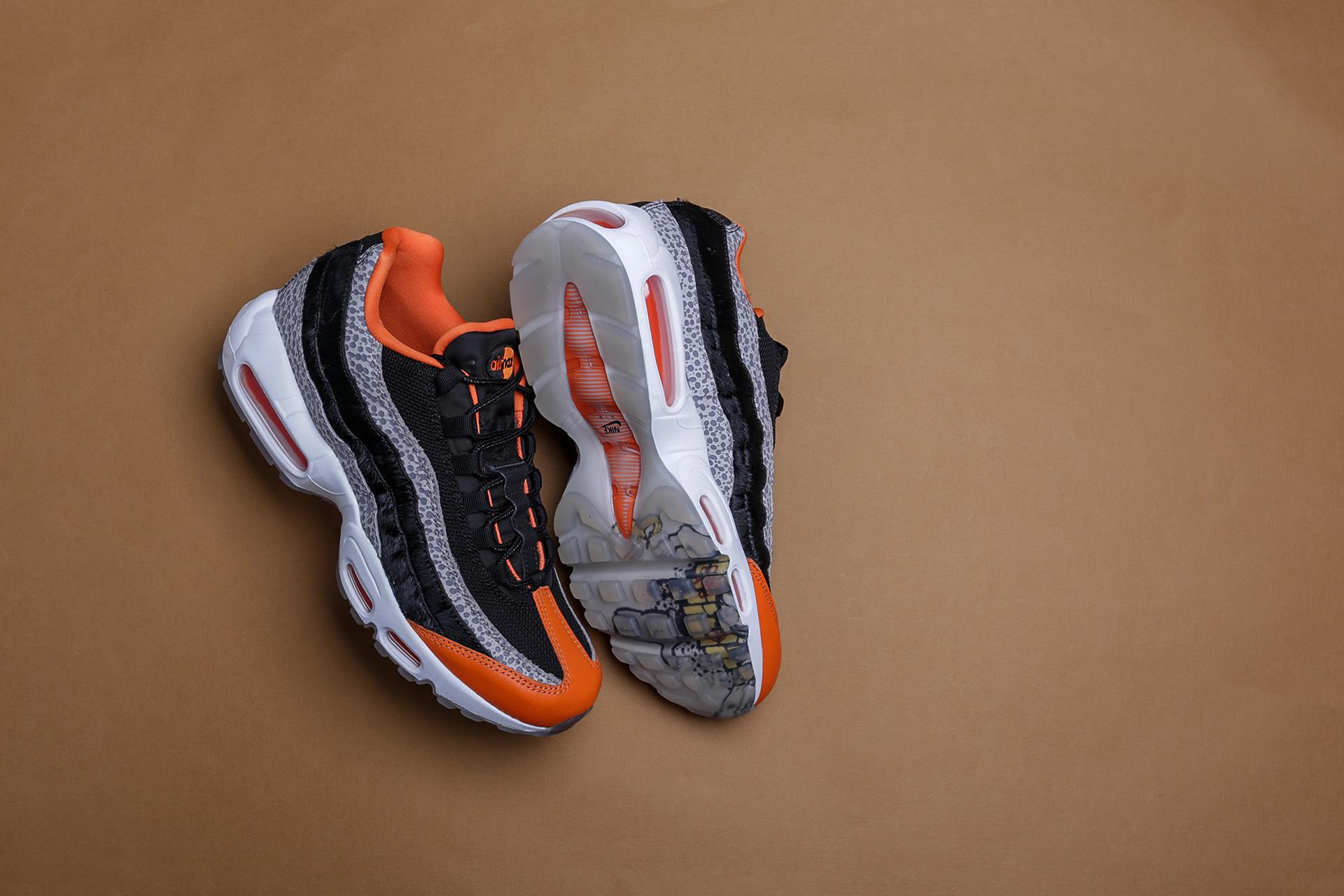 ad518e09 Купить черные мужские кроссовки Air Max 95 от Nike (AV7014-002) по ...