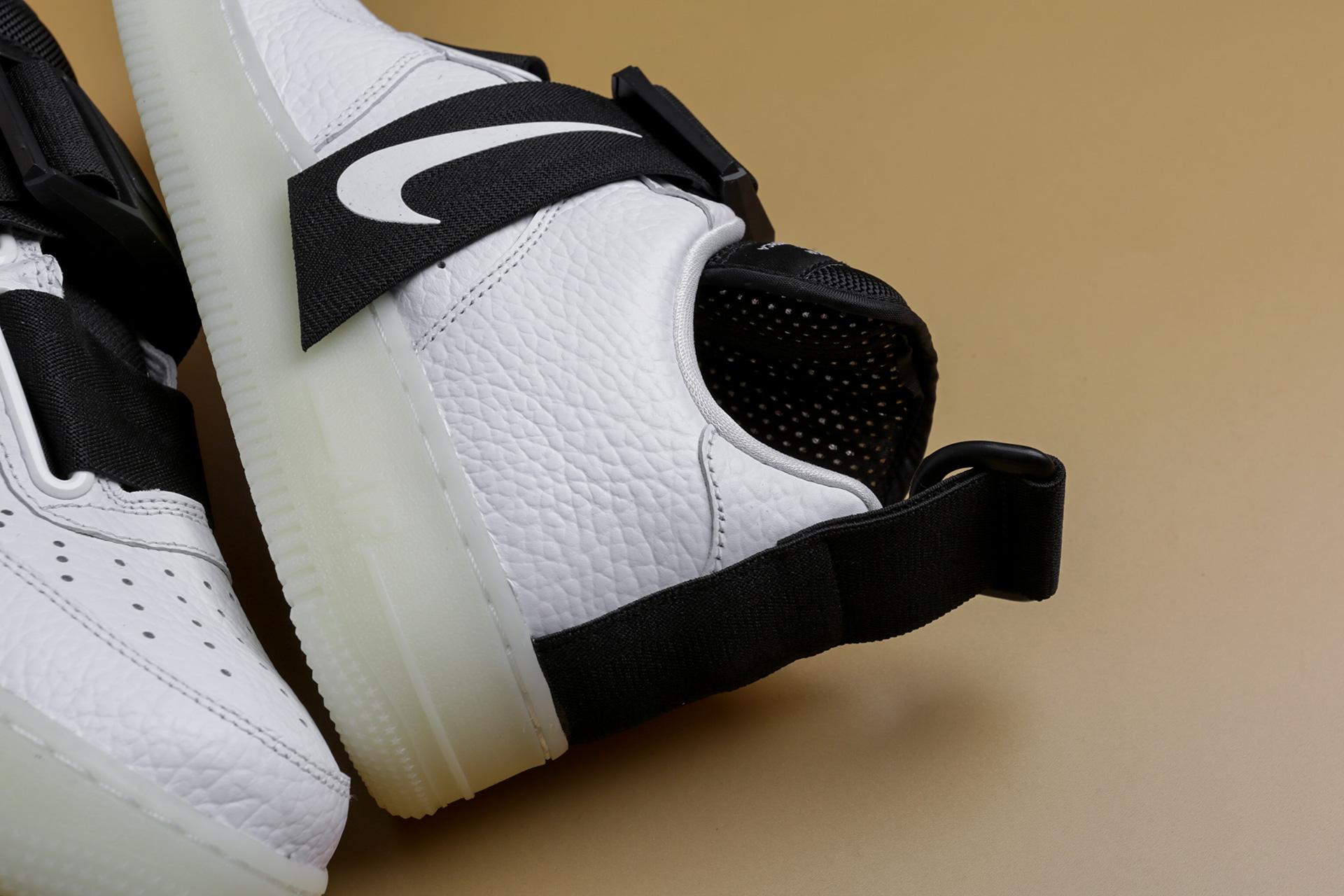 95ea4229 ... Купить мужские белые кроссовки Nike Air Force 1 Utility QS - фото 3  картинки ...