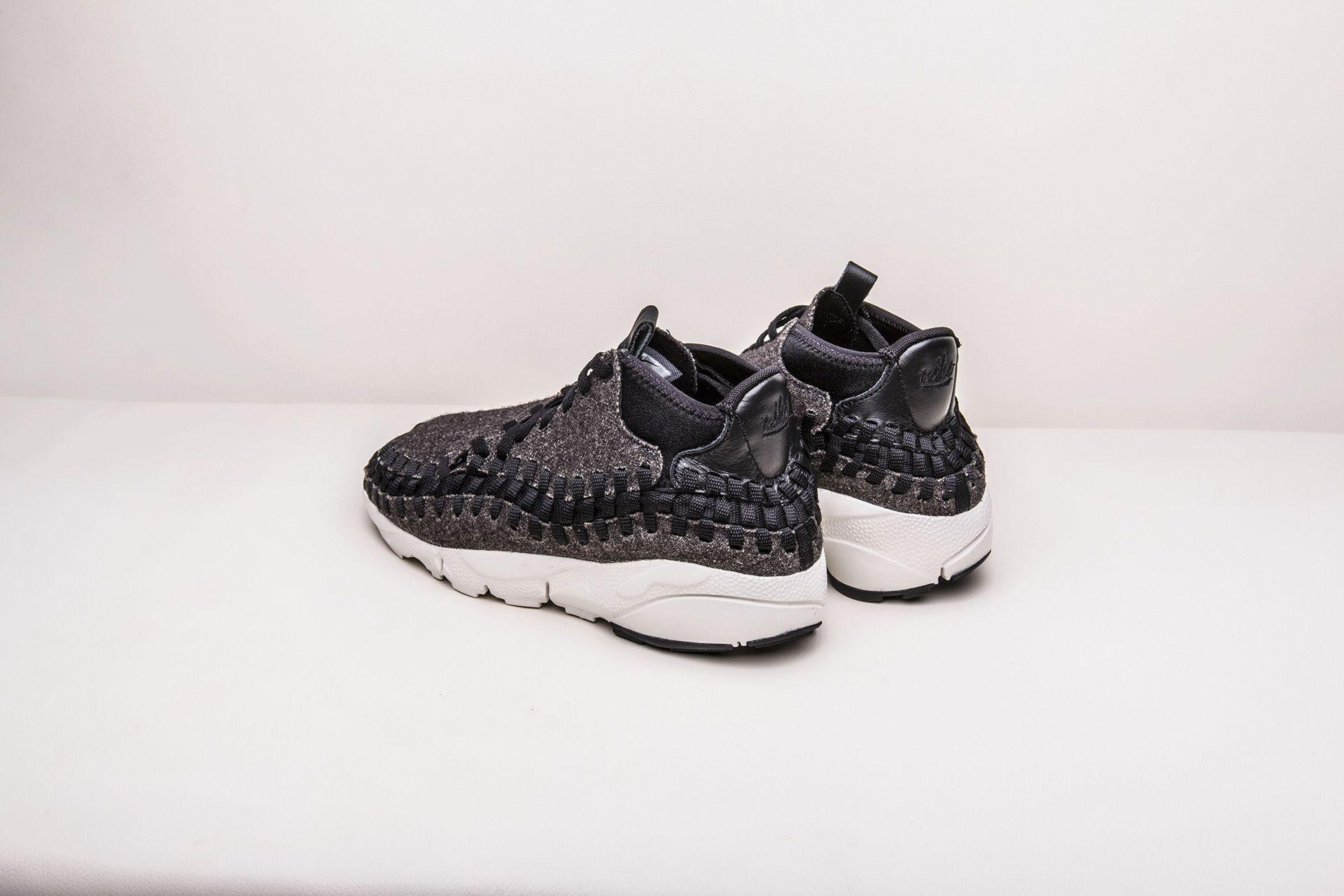 buy online 73e39 250cd ... 7 картинки · Купить мужские черные кроссовки Nike Air Footscape Woven  Chukka SE - фото 8 картинки