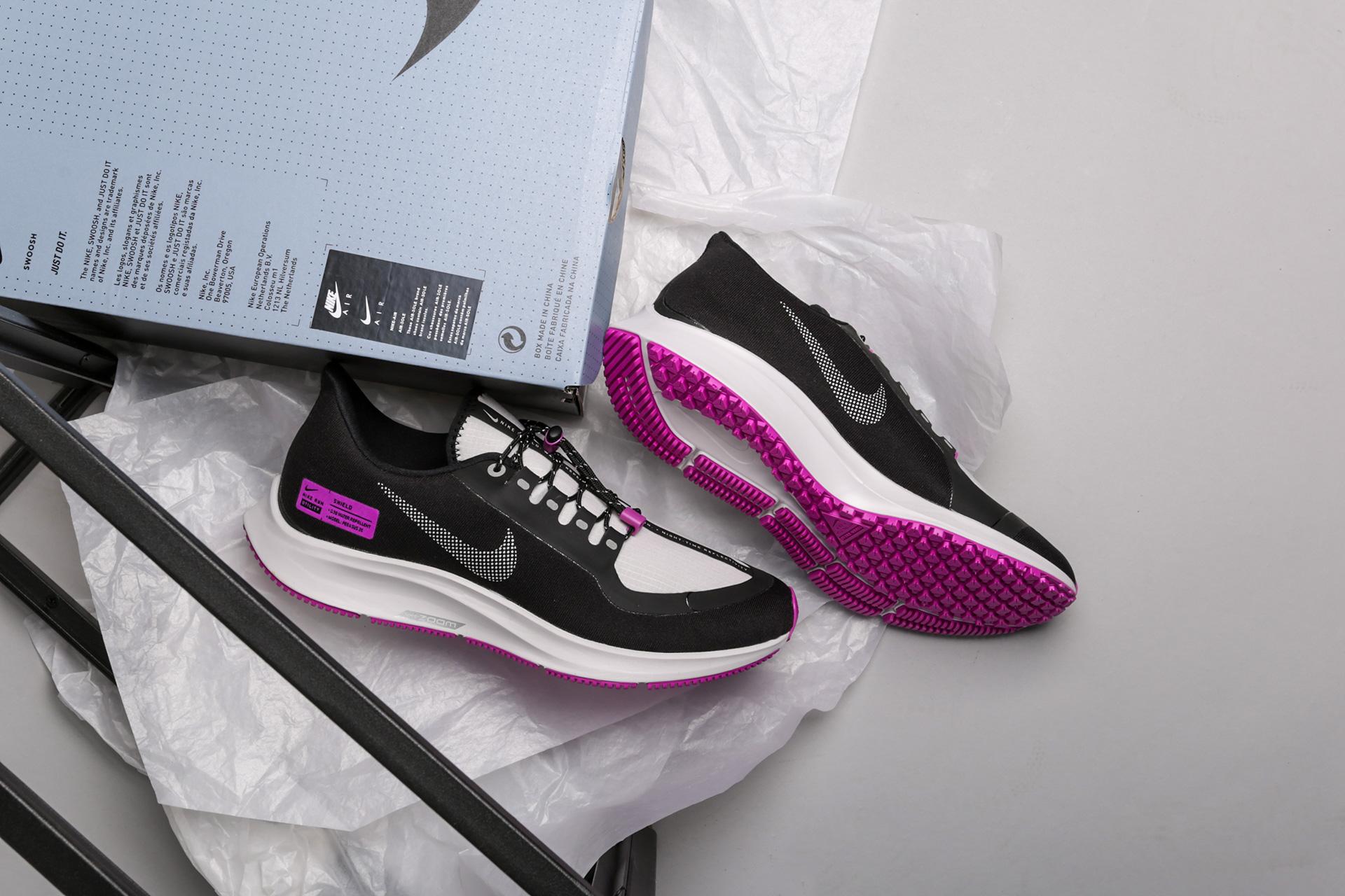 size 40 a3256 304a6 Купить чёрные мужские кроссовки Air Zoom Pegasus 35 Shield ...