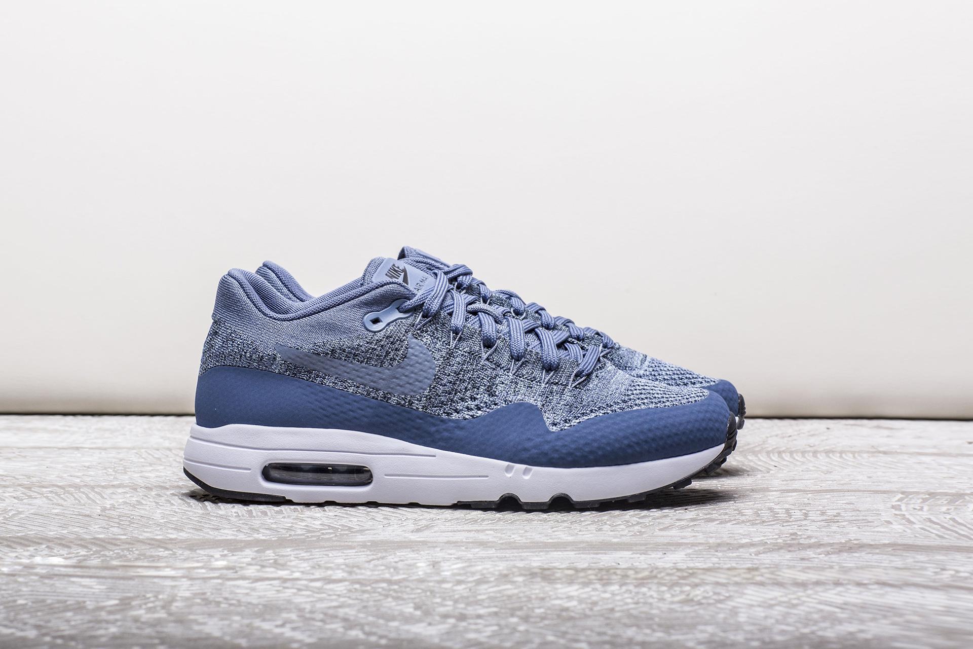 82b6ad63 Купить синие мужские кроссовки Air Max 1 Ultra 2.0 Flyknit от Nike ...