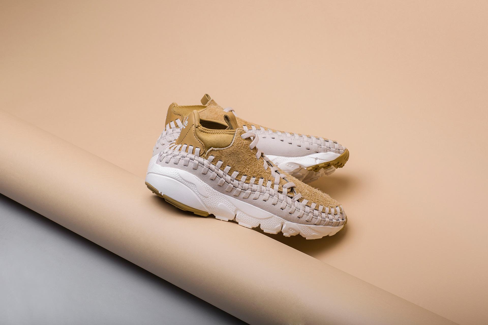 cheap for discount b5c25 95b2c Купить мужские бежевые кроссовки Nike Footscape Woven Chukka QS