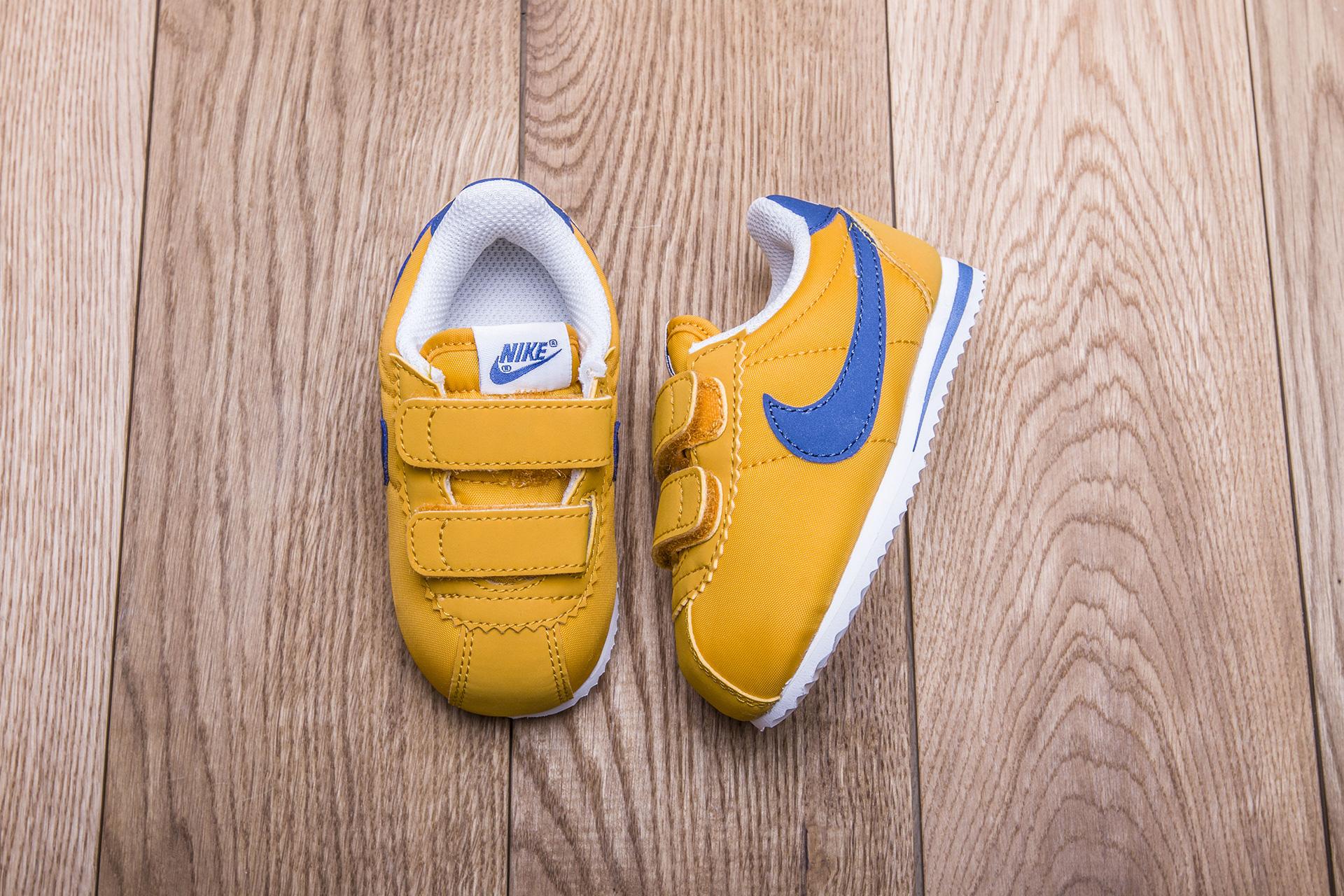 184e6a89 Купить желтые детские кроссовки Cortez Nylon TDV от Nike (749497-700 ...