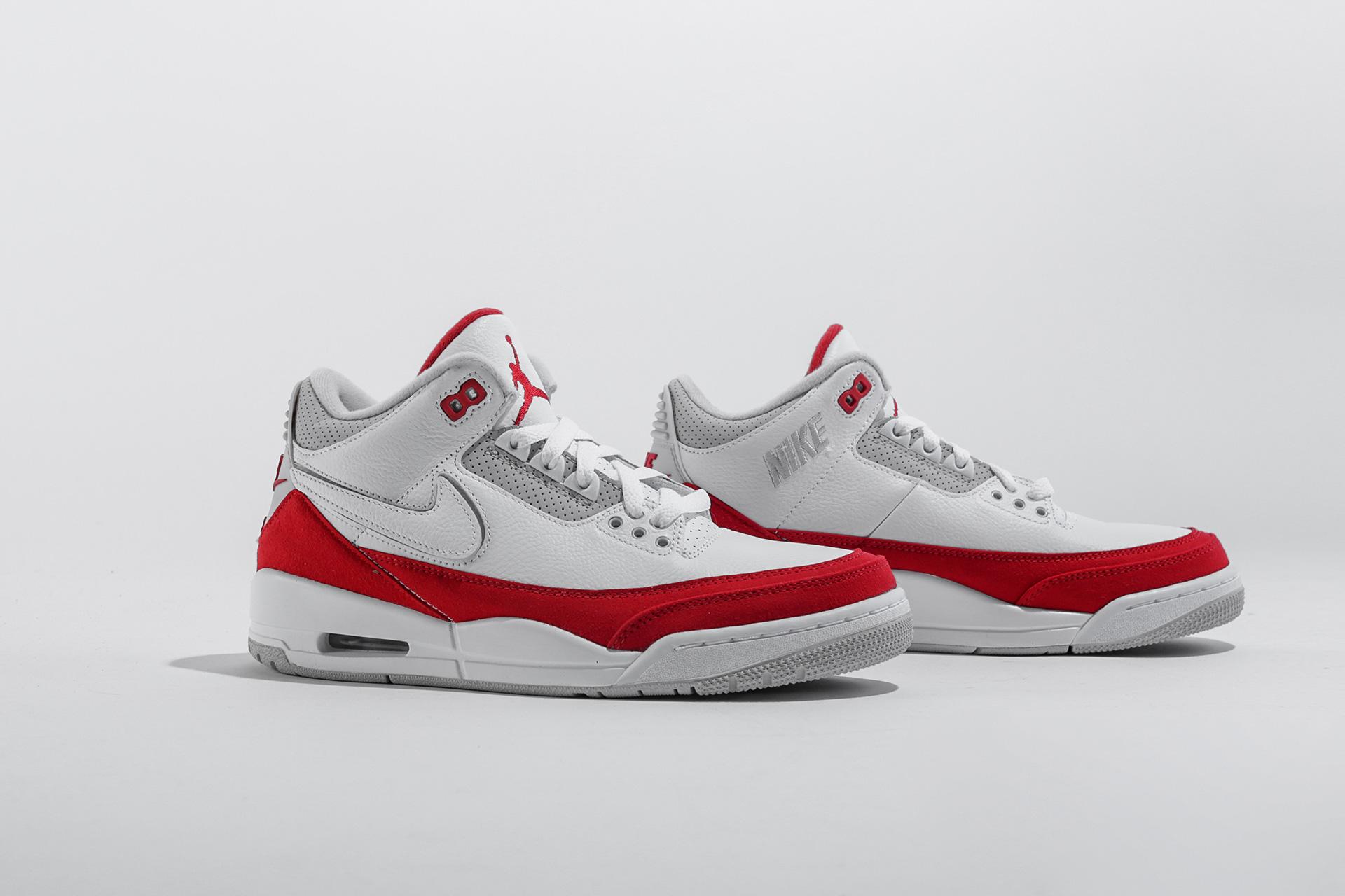 bd866e69 Купить белые мужские кроссовки 3 Retro TH SP от Jordan (CJ0939-100 ...