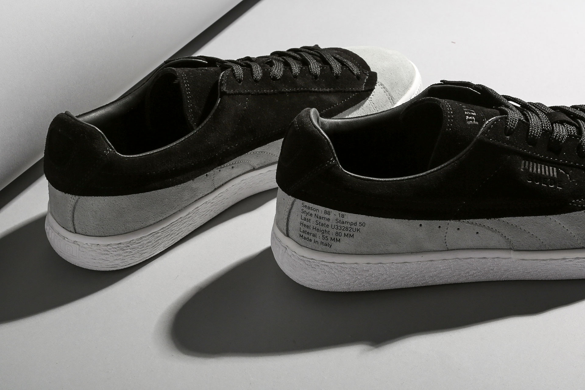 fb7368d53b08ef ... Купить мужские черные кроссовки PUMA Suede Classic x Stampd - фото 2  картинки ...