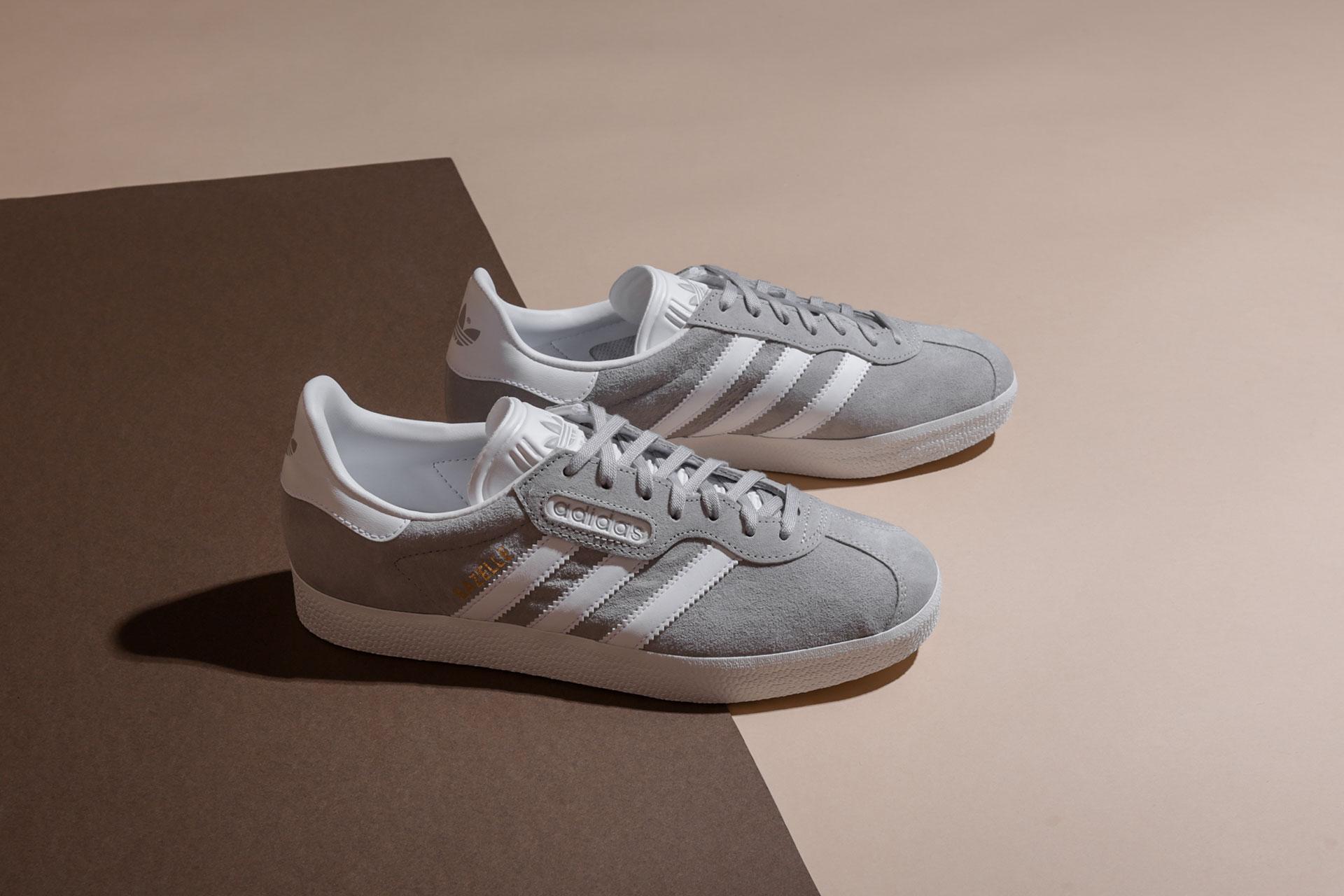 Купить мужские серые кроссовки adidas Originals Gazelle Super Essential 7cd99a1d542
