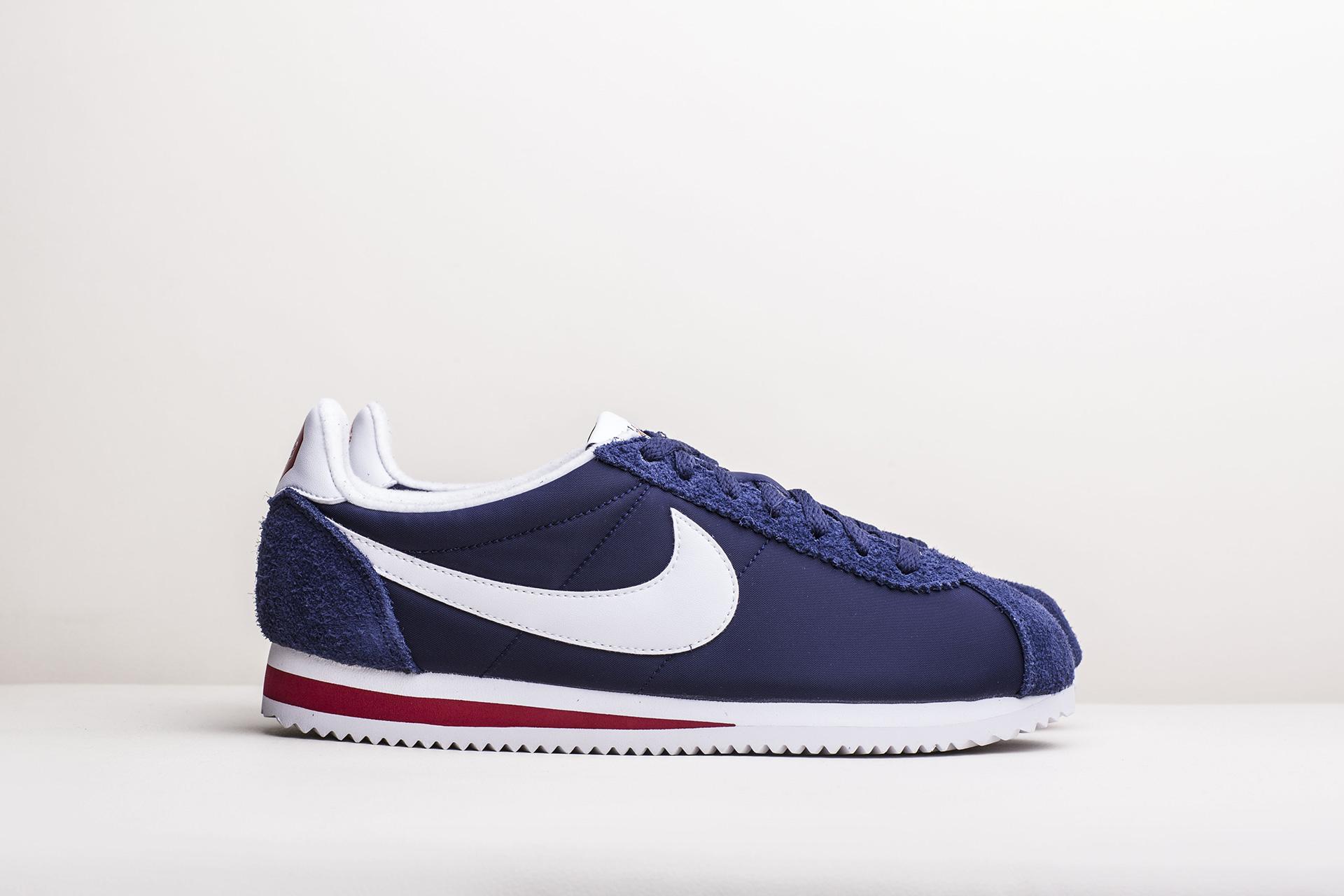 91245f41 Купить синие мужские кроссовки Classic Cortez Nylon PREM от Nike ...