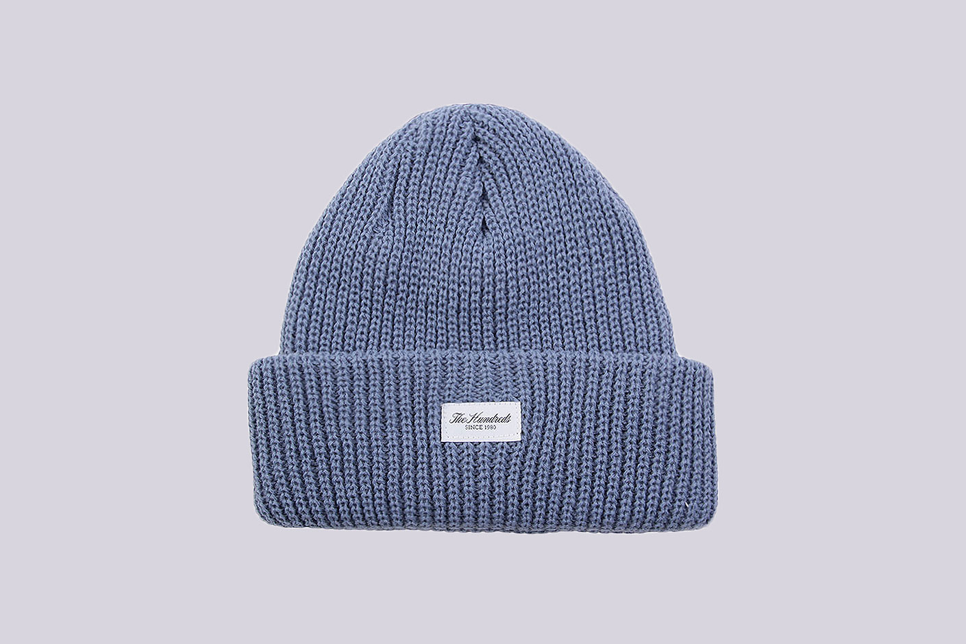 голубая шапка The Hundreds Crisp 2 Beanie