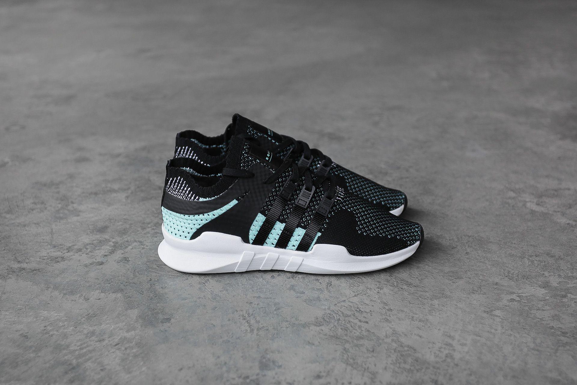 Купить женские черные кроссовки adidas Originals EQT Support ADV PK W 7a8da7d7340